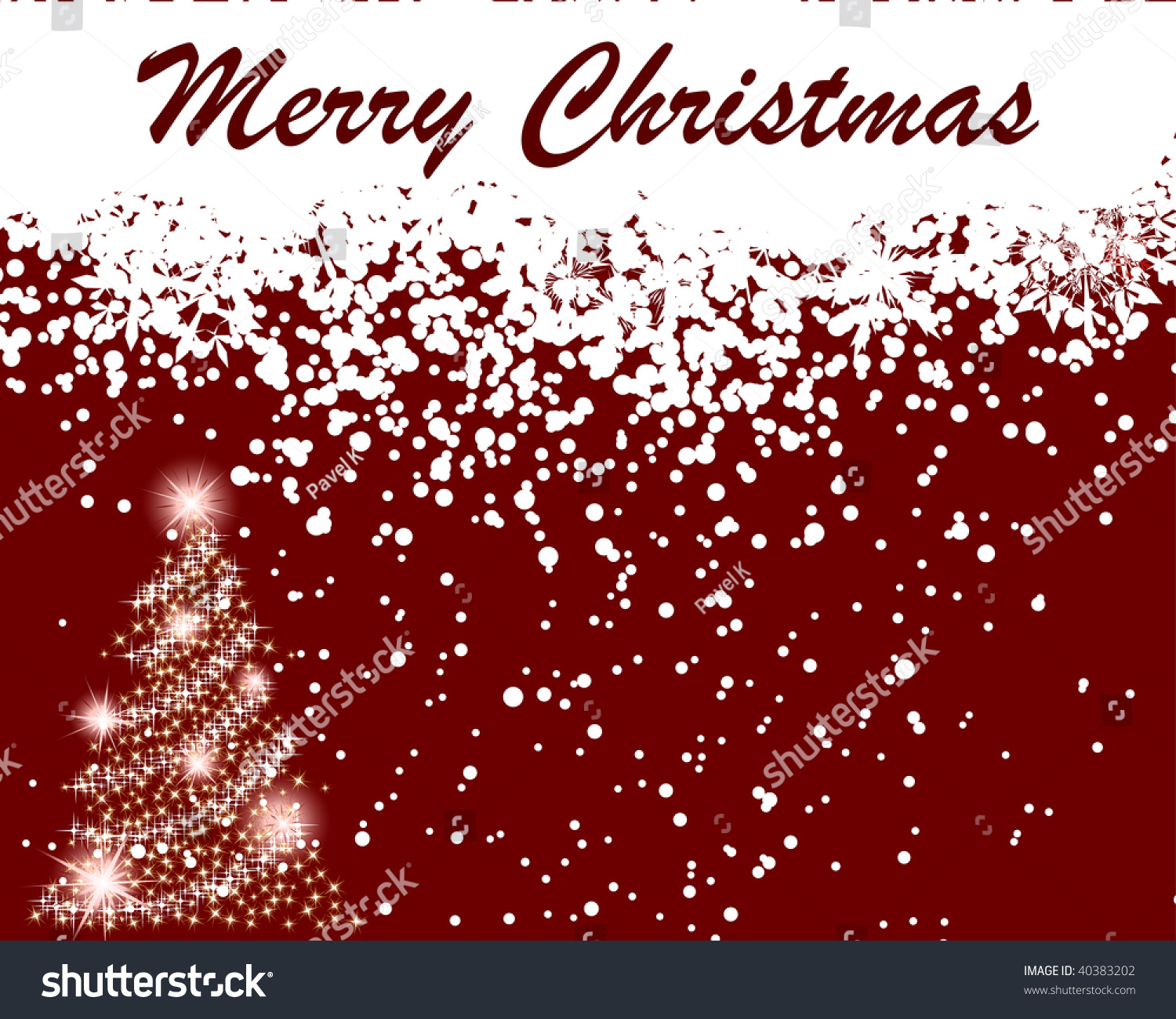 Beautiful vector christmas new year background for design use - Beautiful Vector Christmas New Year Background For Design Use
