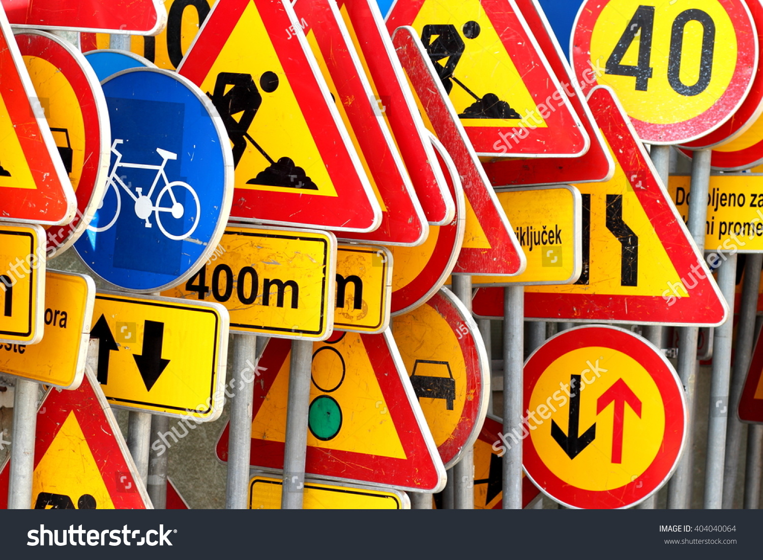 stock-photo-different-colored-traffic-si