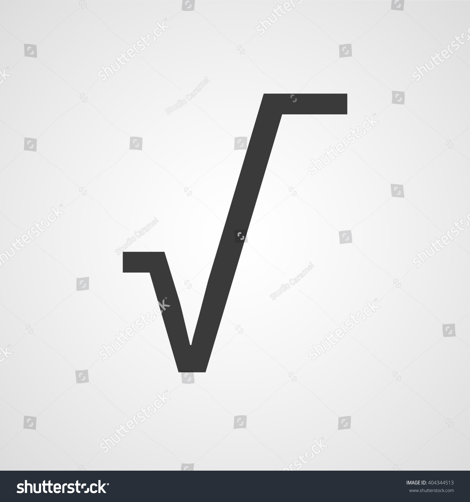 Square root symbol vector icon stock vector 404344513 shutterstock square root symbol vector icon buycottarizona Images