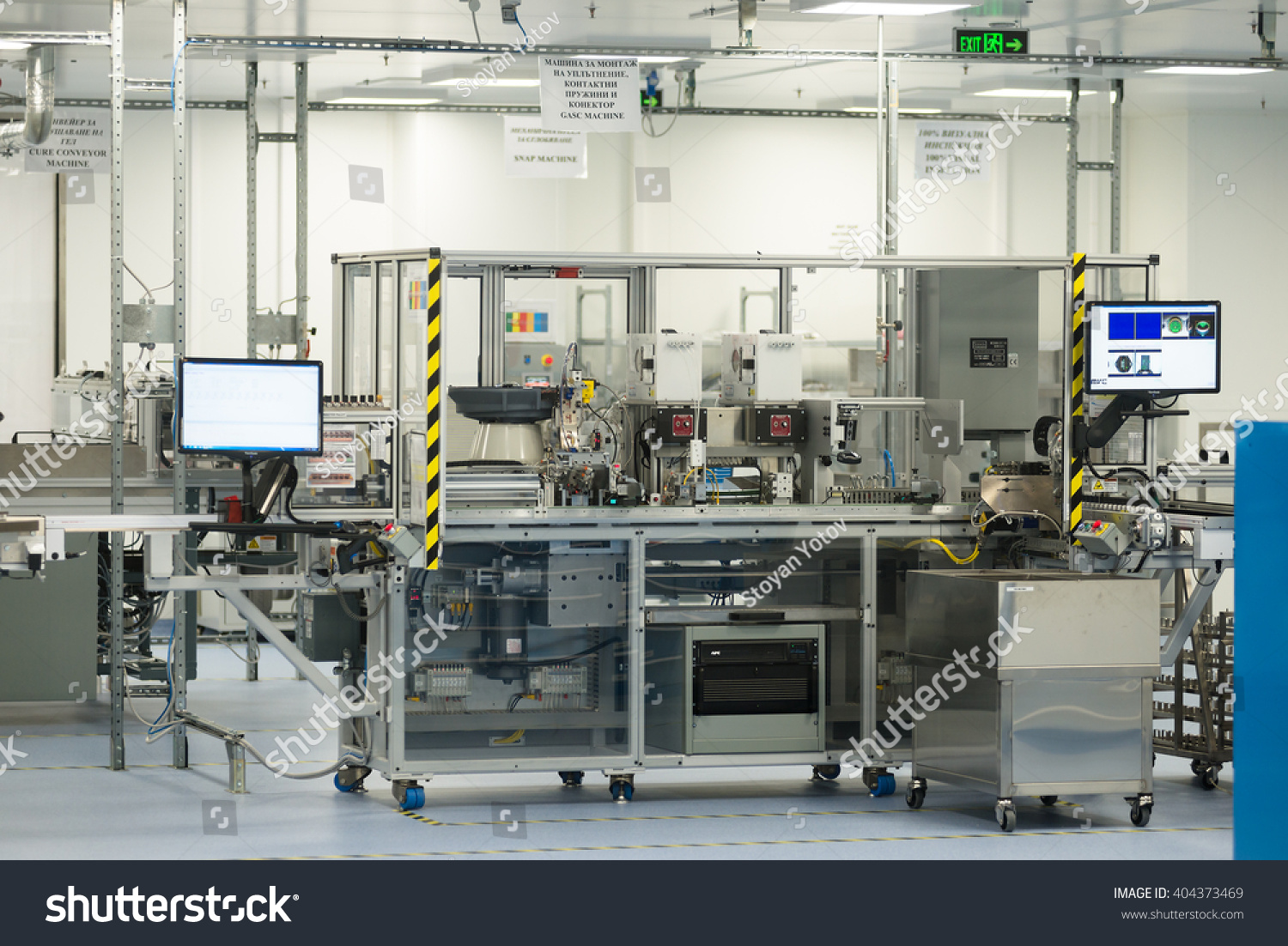 High-Tech Machinery And Technology Equipment In In Sterile ...