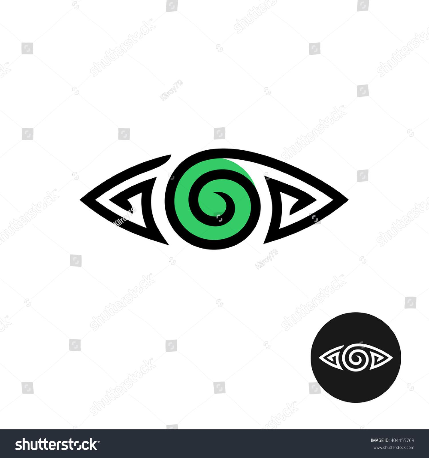 Green Spiral Eye Logo Top Images For Pinterest