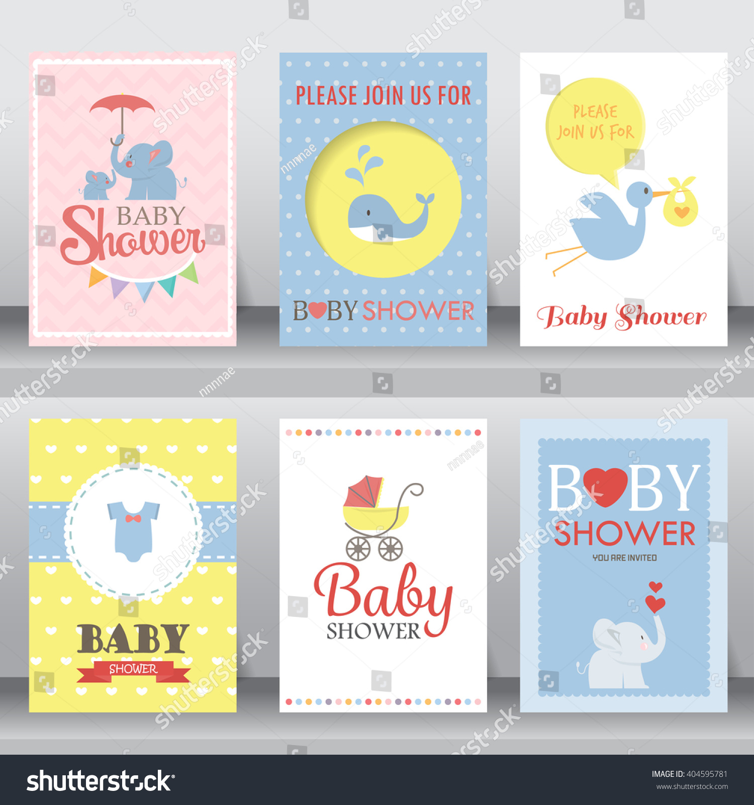 happy birthday baby shower for newborn celebration greeting and