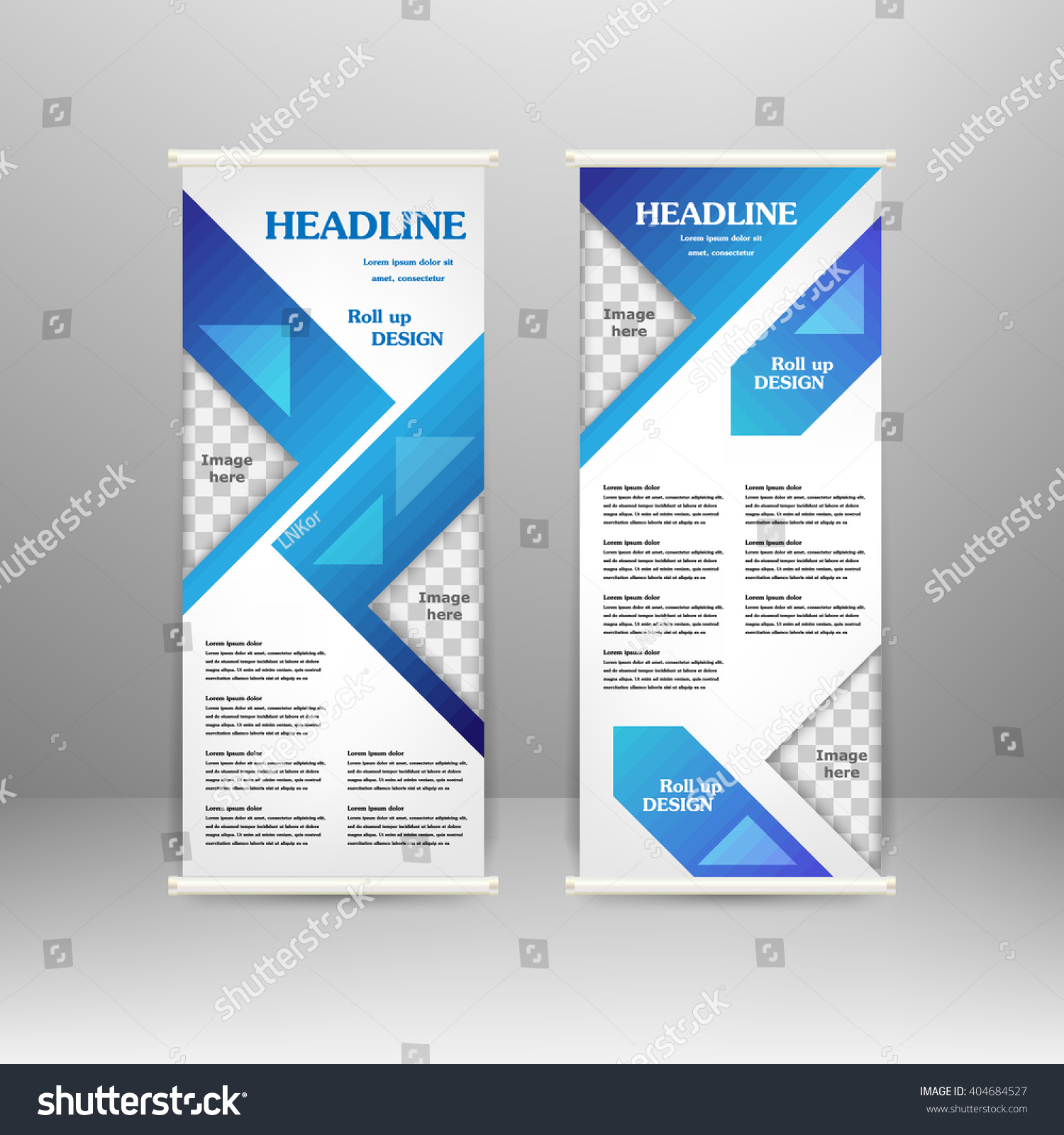 roll banner stand design advertisement poster stock vector for advertisement poster brochure presentation business