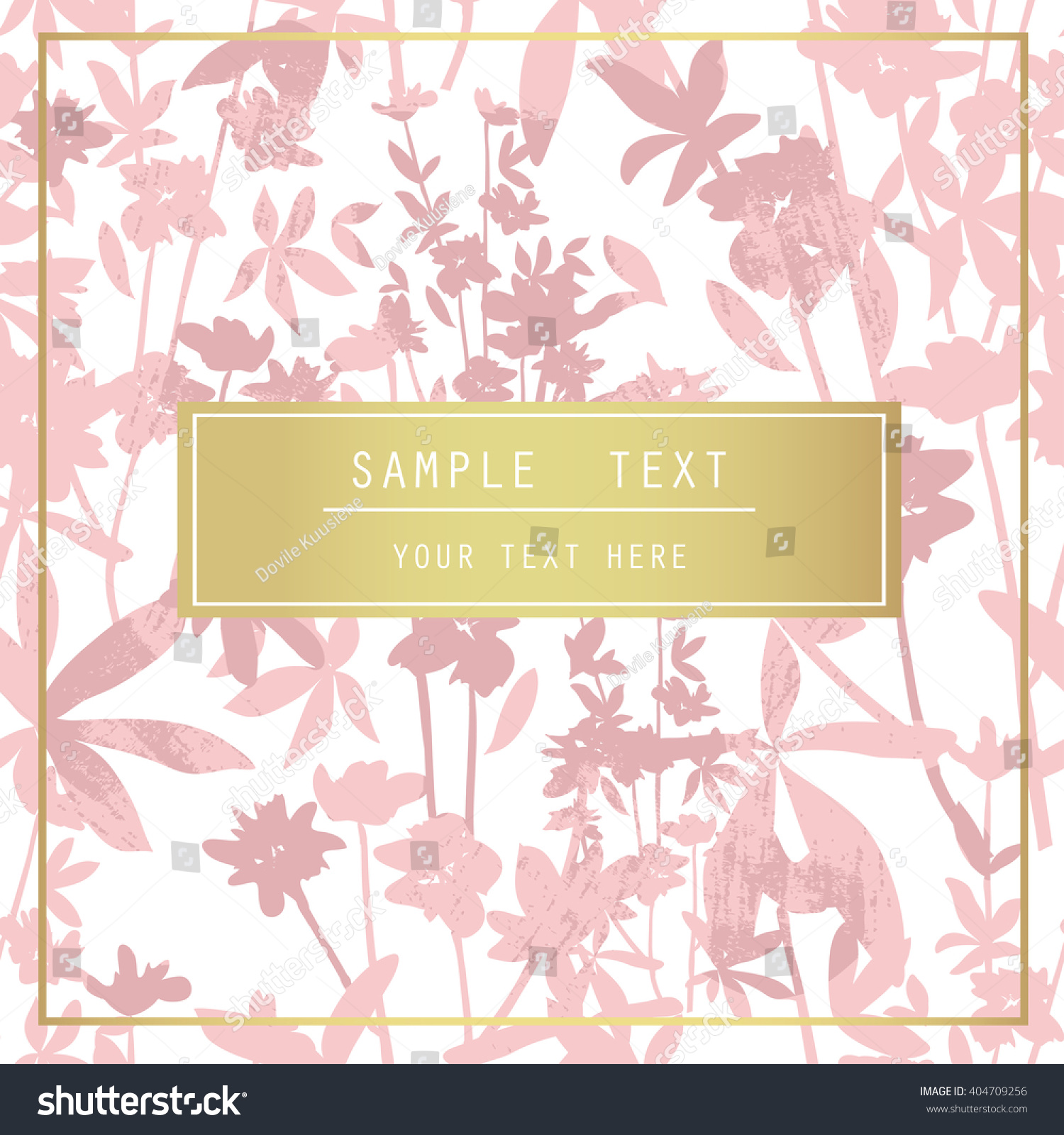 printable spring wall art floral pattern stock vector 404709256