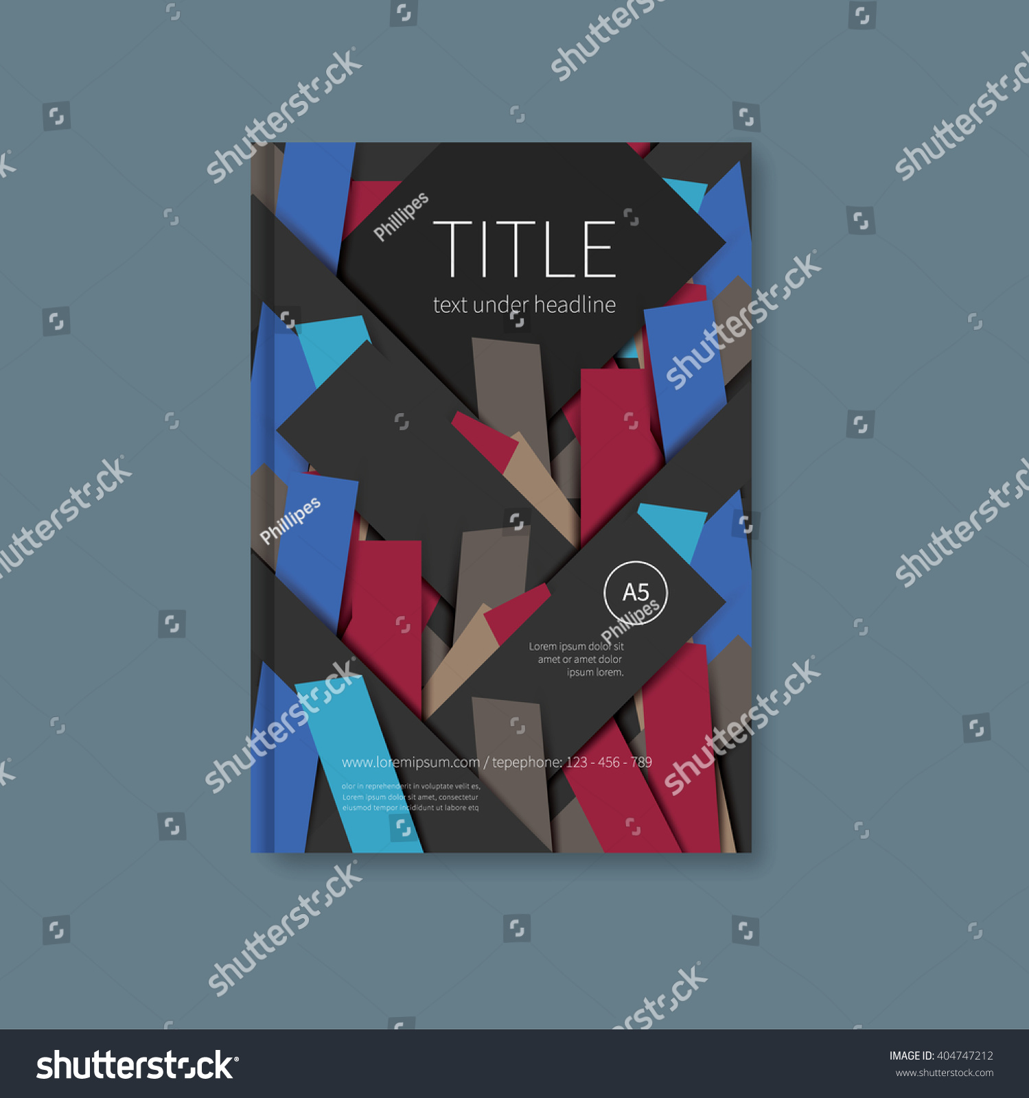 Cover page designs for school projects note book cover page design - Brochure Or Notebook First Page With Overlayed Cut Stickers Papers Book Design Cover Template