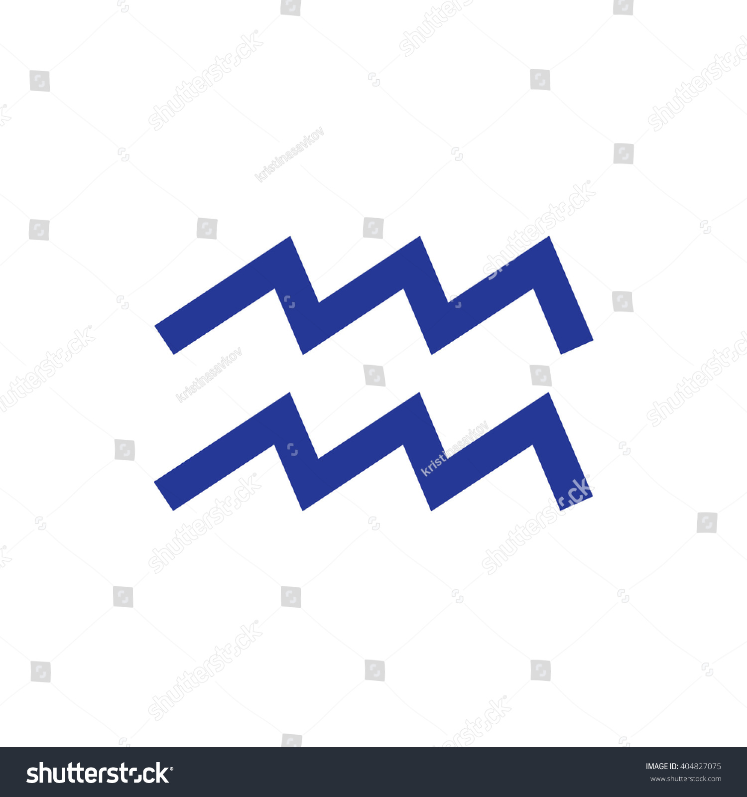 Blue aquarius zodiac sign astrology symbol stock vector 404827075 blue aquarius zodiac sign astrology symbol vector illustration buycottarizona