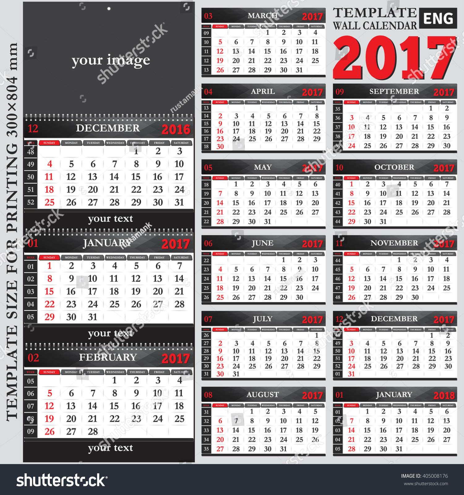 quarterly calendar template
