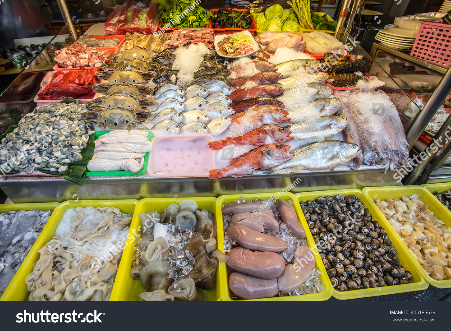 Chinese fish market stock photo 405185629 shutterstock for Oriental fish market