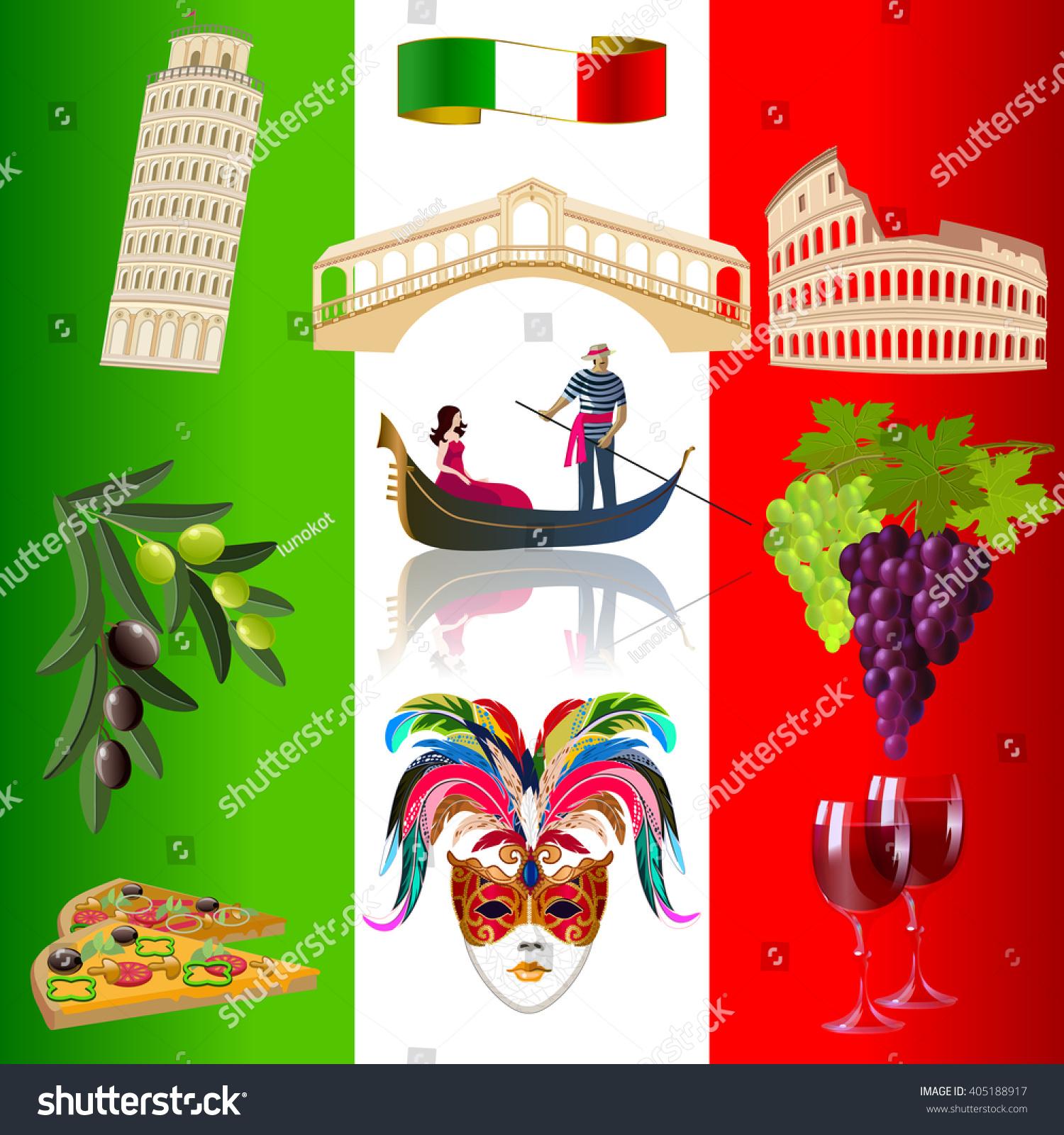 Italy Background Venetian Carnival Mask Italian Stock Photo (Photo ...
