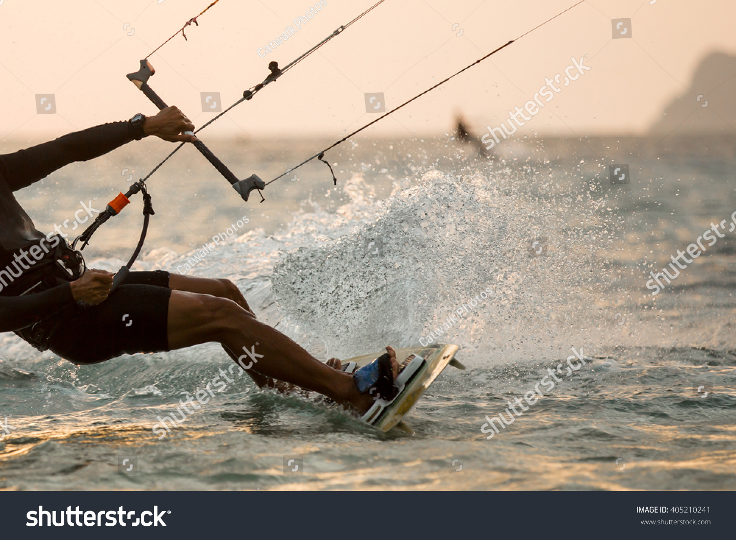 Kitesurfing Kiteboarding action photos