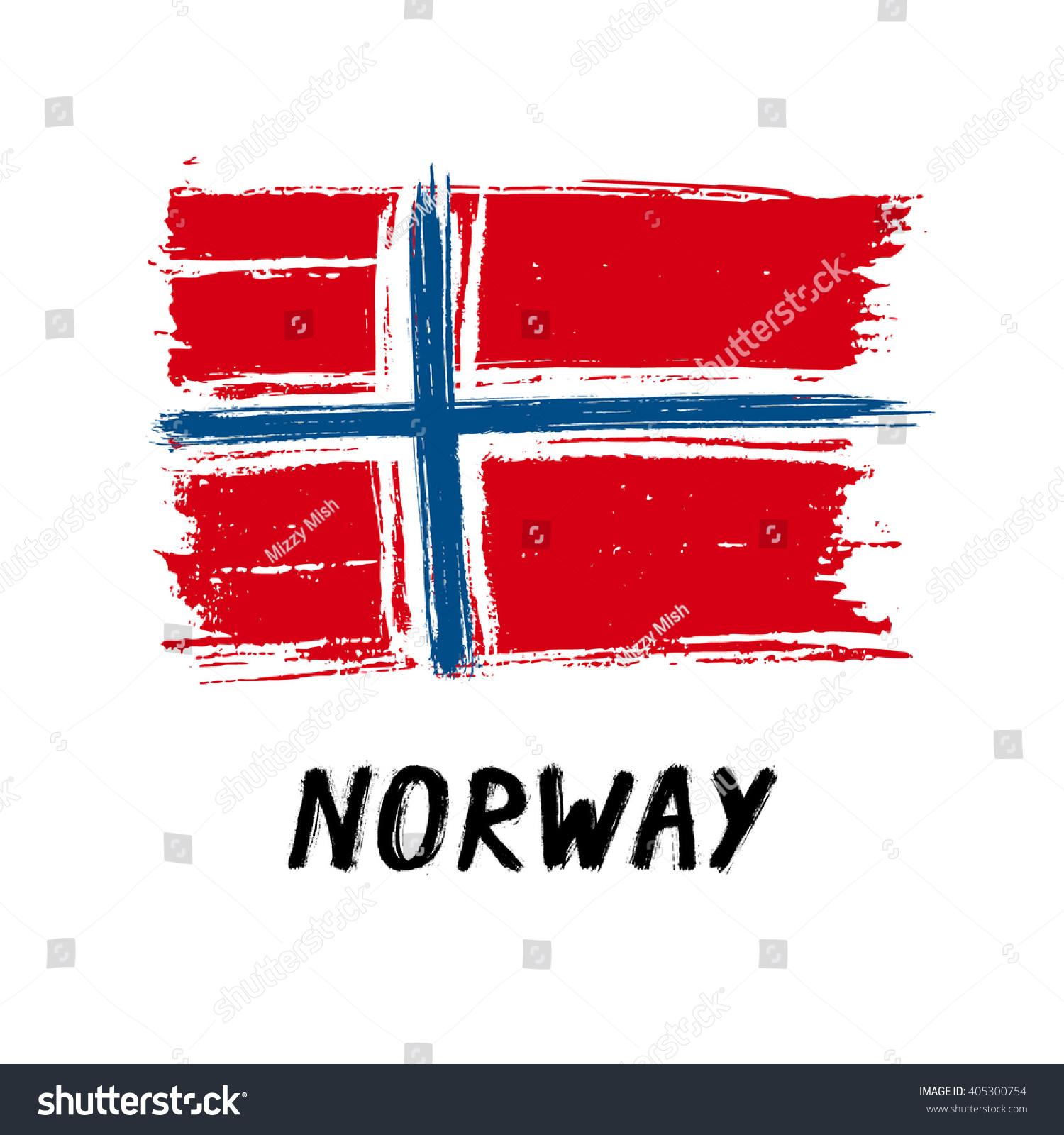 flag norway grunge stock vector 405300754 shutterstock