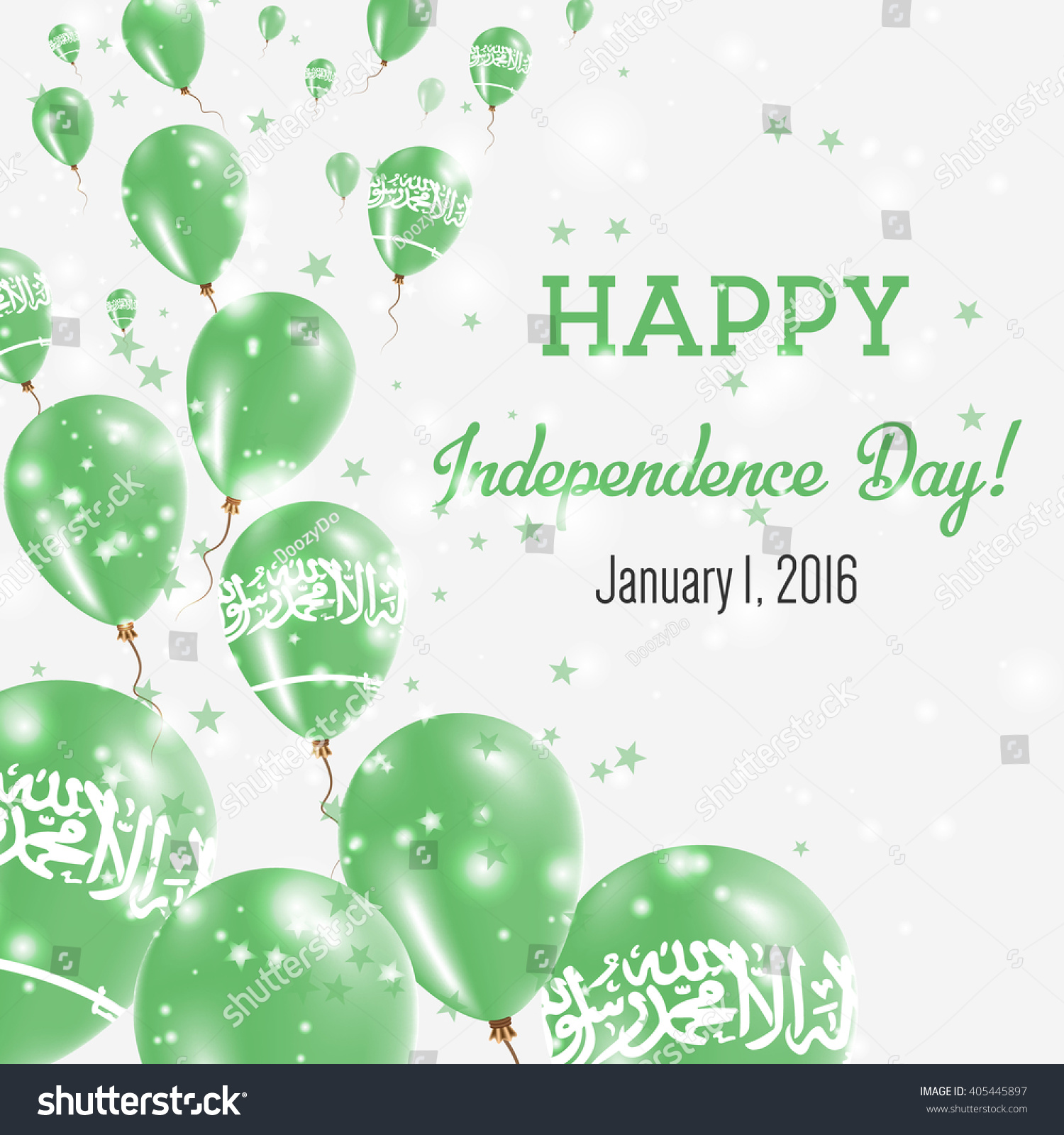 Saudi arabia independence day greeting card stock vector 405445897 saudi arabia independence day greeting card flying balloons in saudi arabia national colors happy kristyandbryce Gallery
