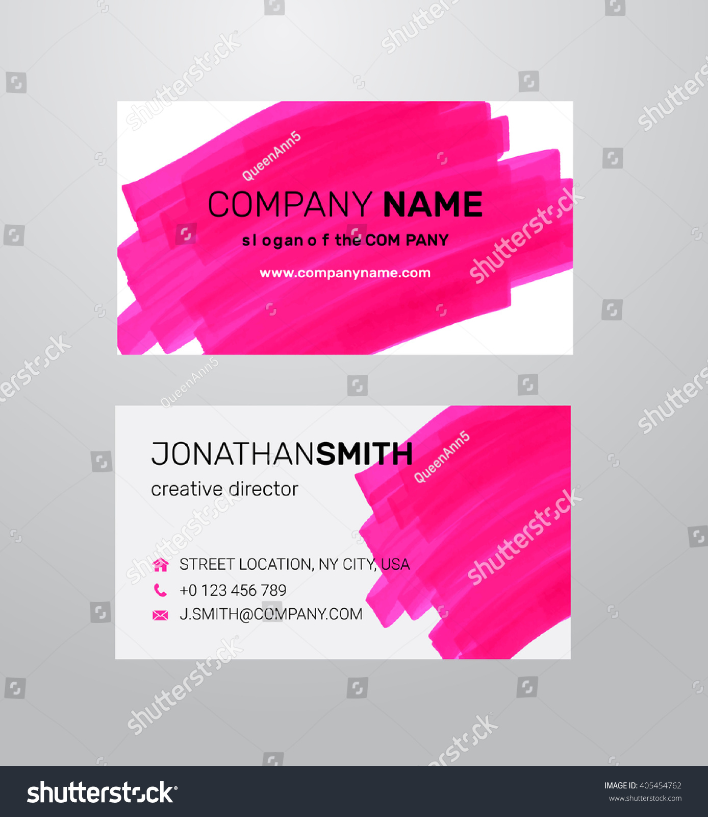 Painter Business Card Template Choice Image Templates Example
