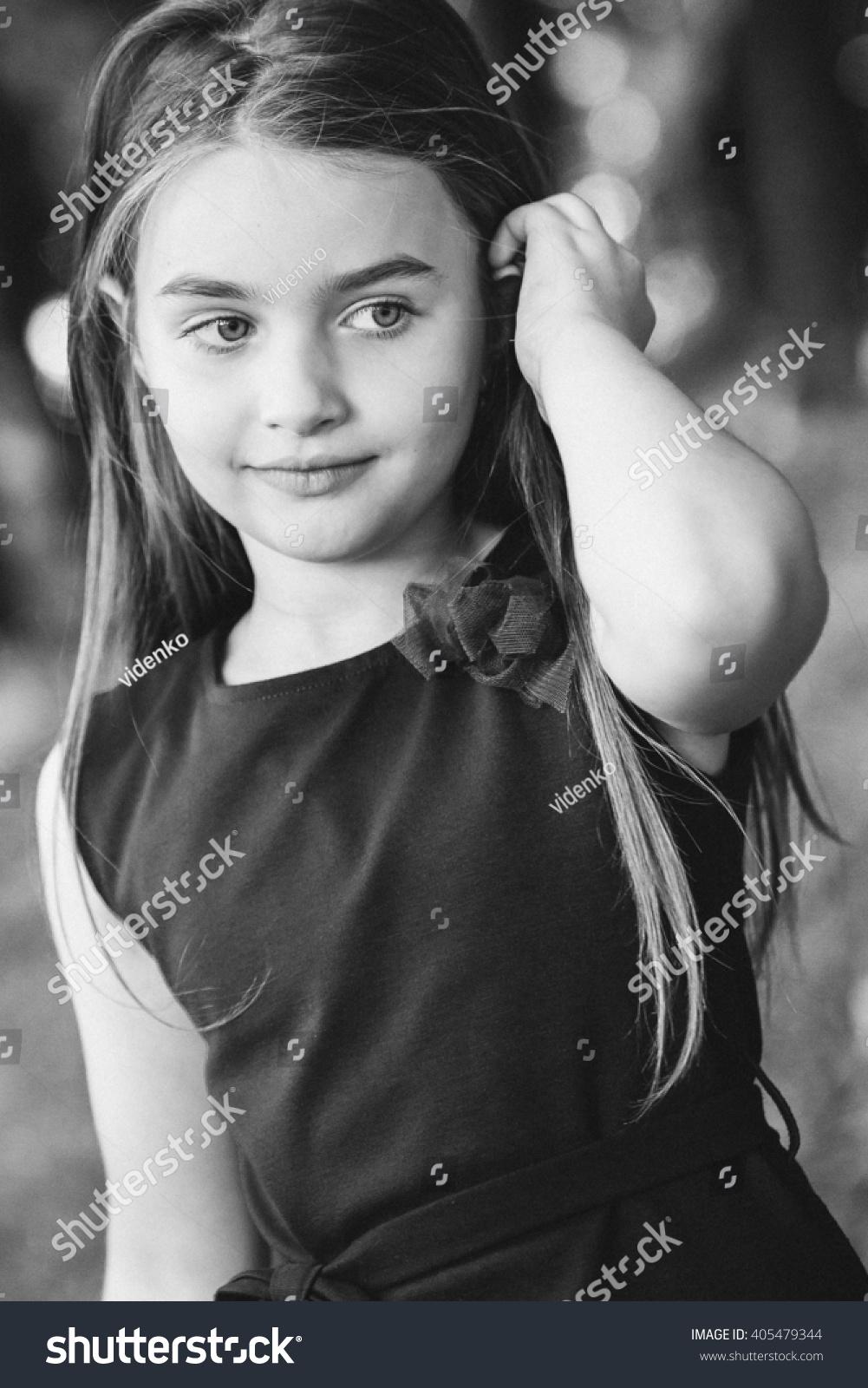 Sensational Spring Fairy Portrait Beautiful Little Girl Stock Photo 405479344 Short Hairstyles For Black Women Fulllsitofus