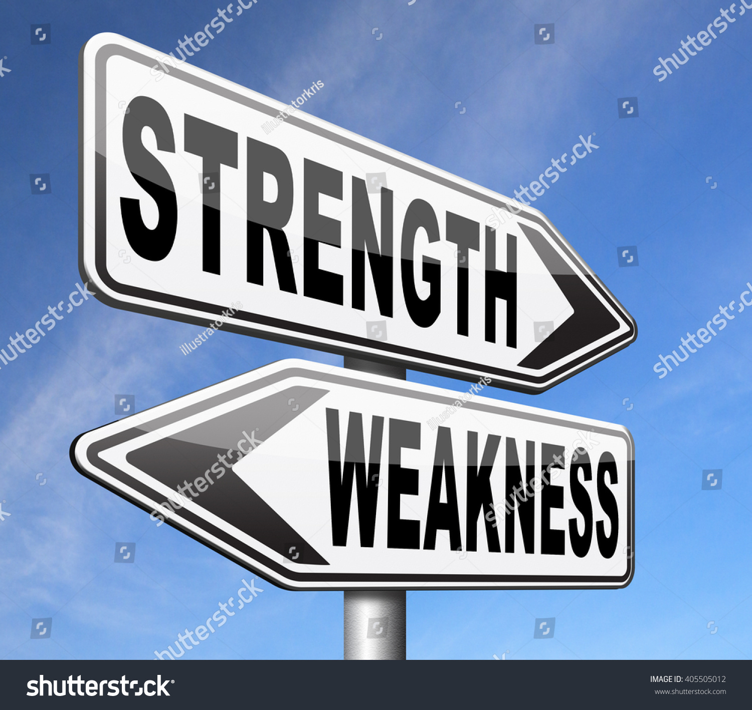 strength or weakness strong or weak points overcome problems save to a lightbox