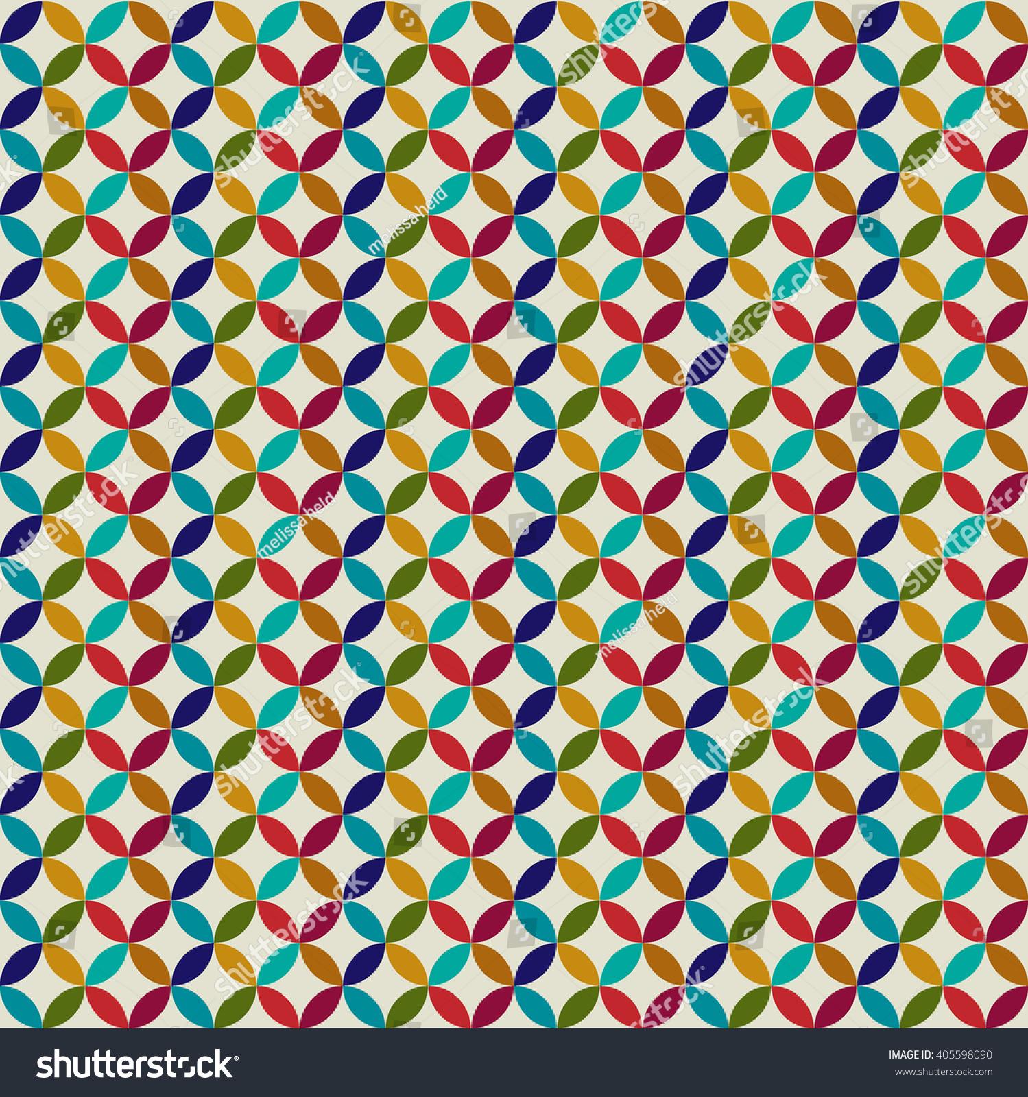 Circle Tiles Circle Tiles Stock Vector 405598090 Shutterstock