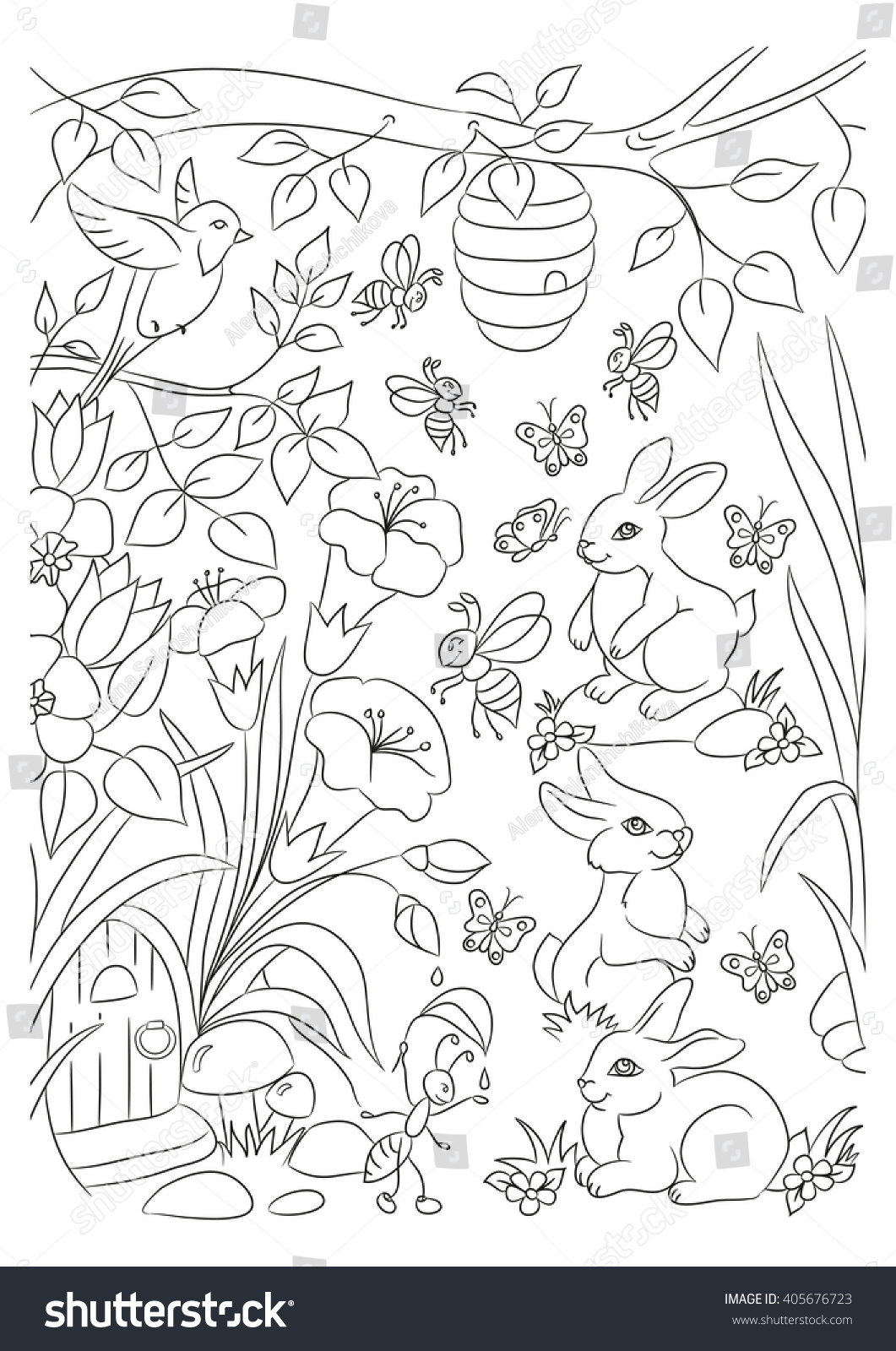 forest animals coloring page images about woodland on pinterest forest animals color coloring