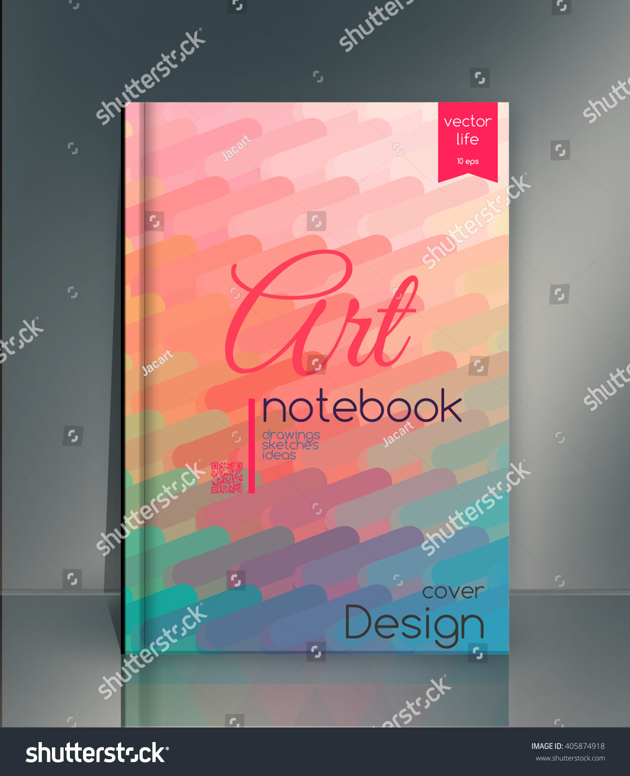 Creative Book Cover Ideas ~ Style template. abstract background. book cover. ez canvas