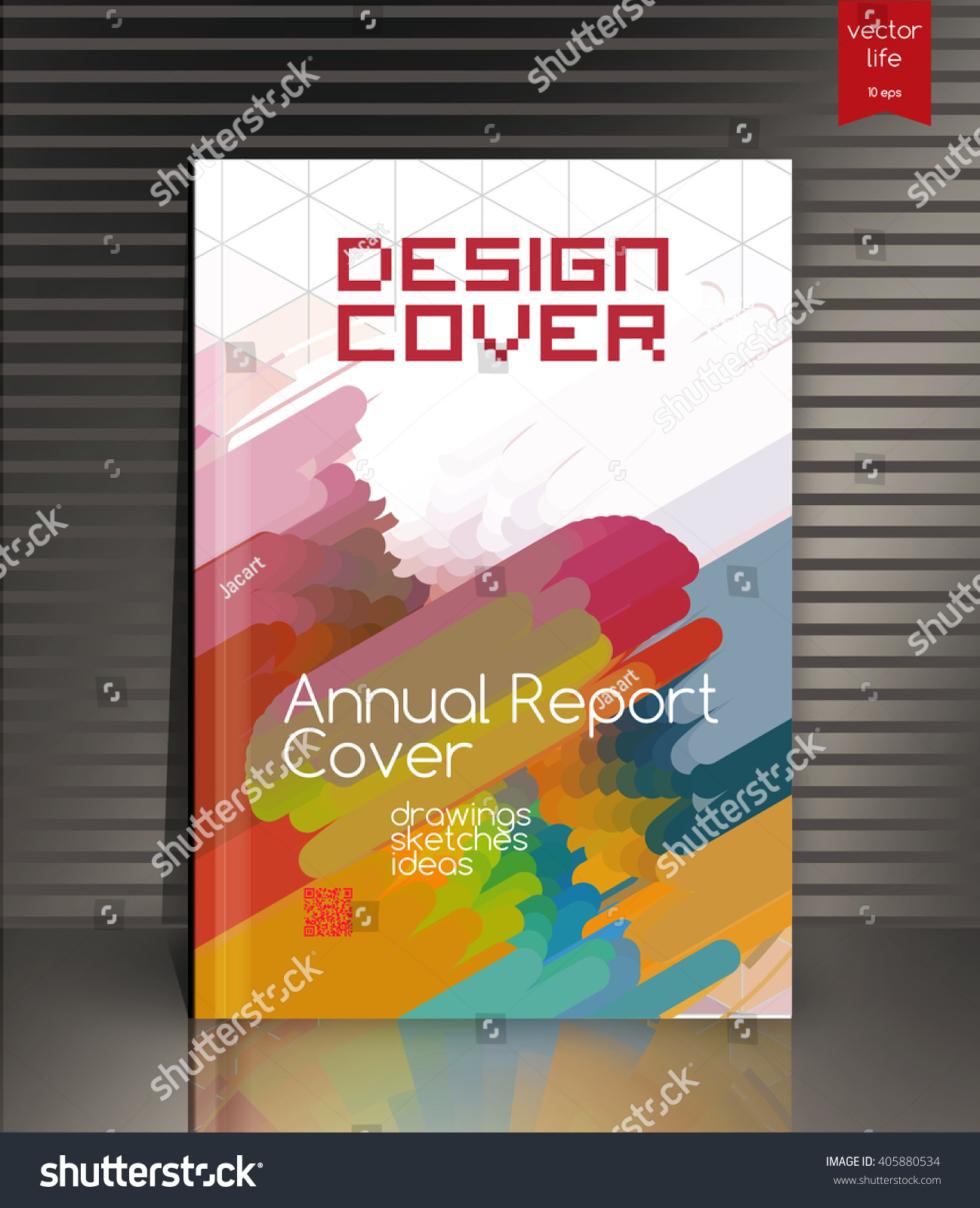 annual report cover cover design cover stock vector 405880534 annual report cover cover design cover for the company s environmental energy and
