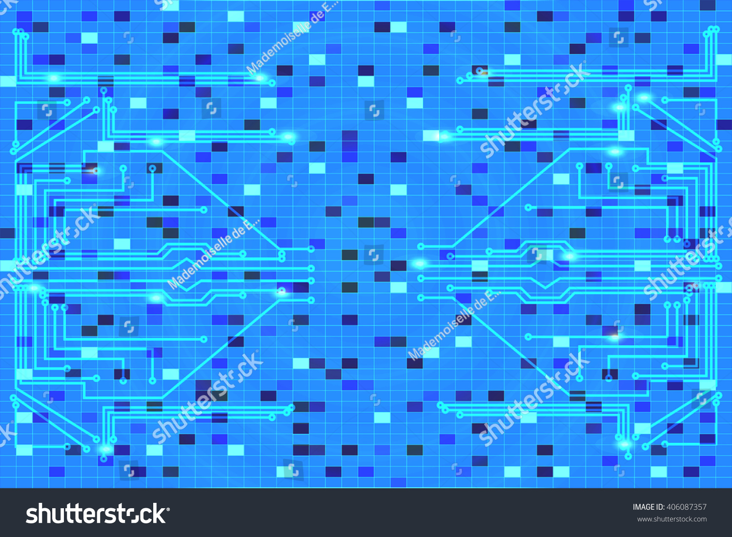 Vector Illustration Background Image On Printed Stock Pics Photos Desktop Wallpapers Circuit Board Pictures The Conductors Gradient For Design