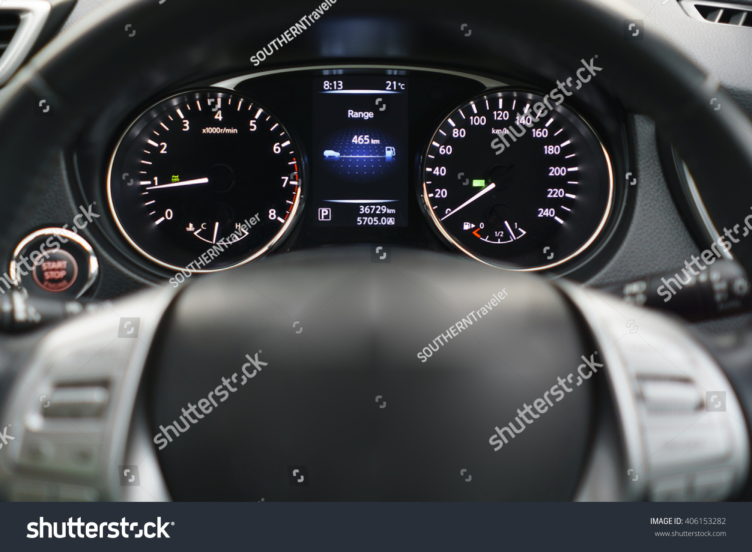 Car Dashboard Car Interior Modern Car Stock Photo - Car image sign of dashboardcar dashboard icons stock photospictures royalty free car