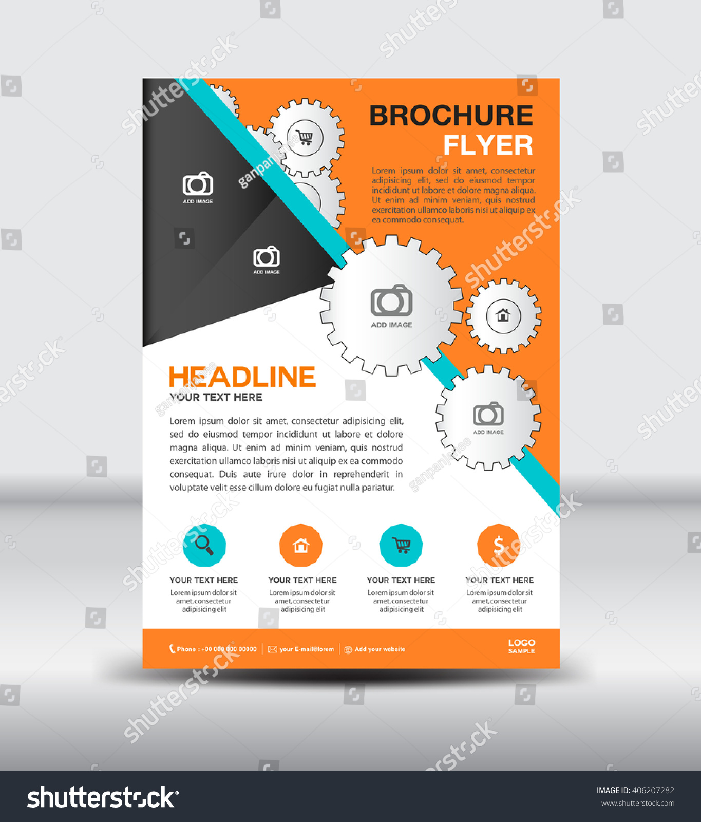 email flyer template