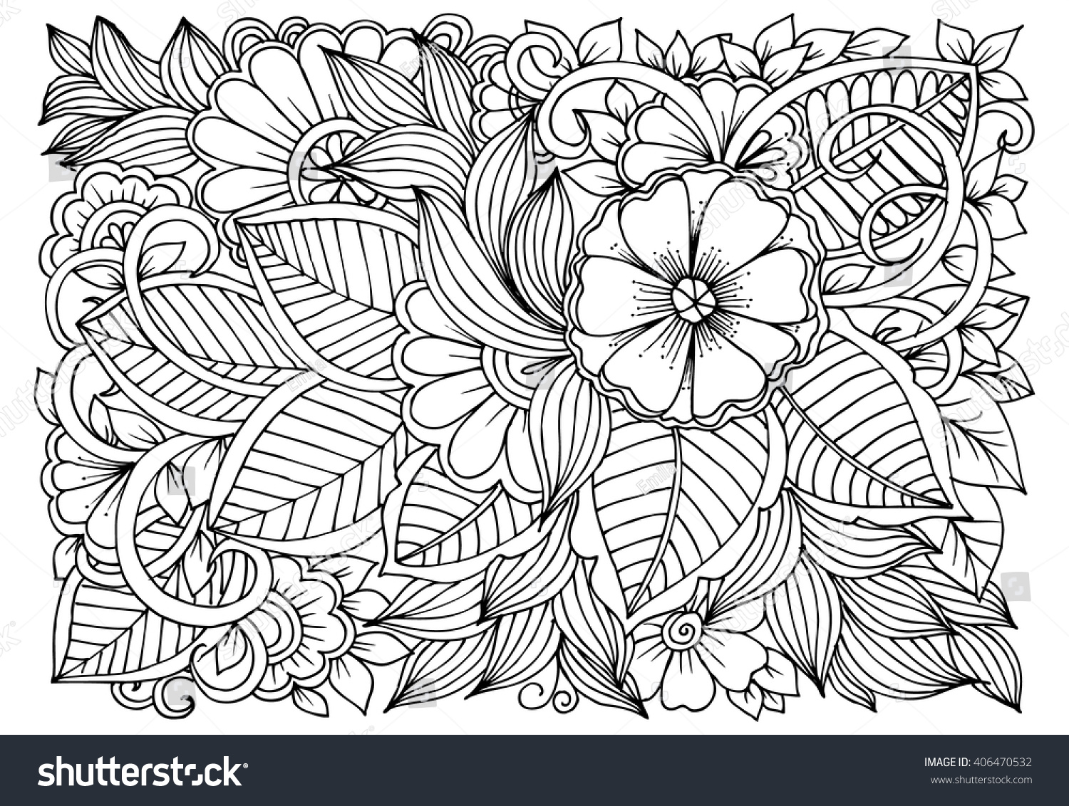 Printable Relaxing Coloring Pages