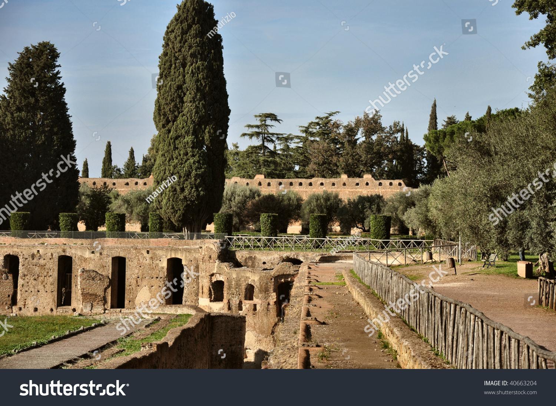 Villa Adriana Tivoli Lazio Italy Stock Photo (Edit Now) 40663204 ...