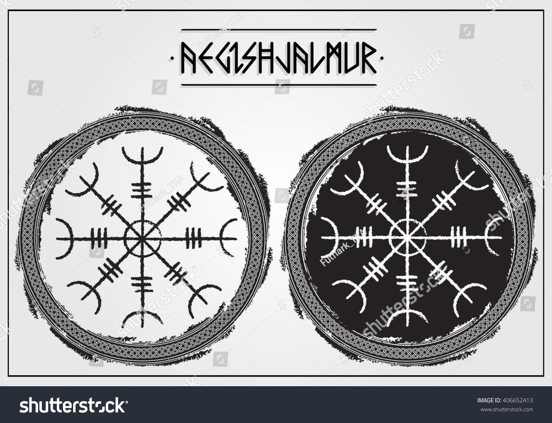 Galdrastafir ancient icelandic magic symbols aegishjalmur stock galdrastafir ancient icelandic magic symbols aegishjalmur to affect mind of your enemies with biocorpaavc Choice Image
