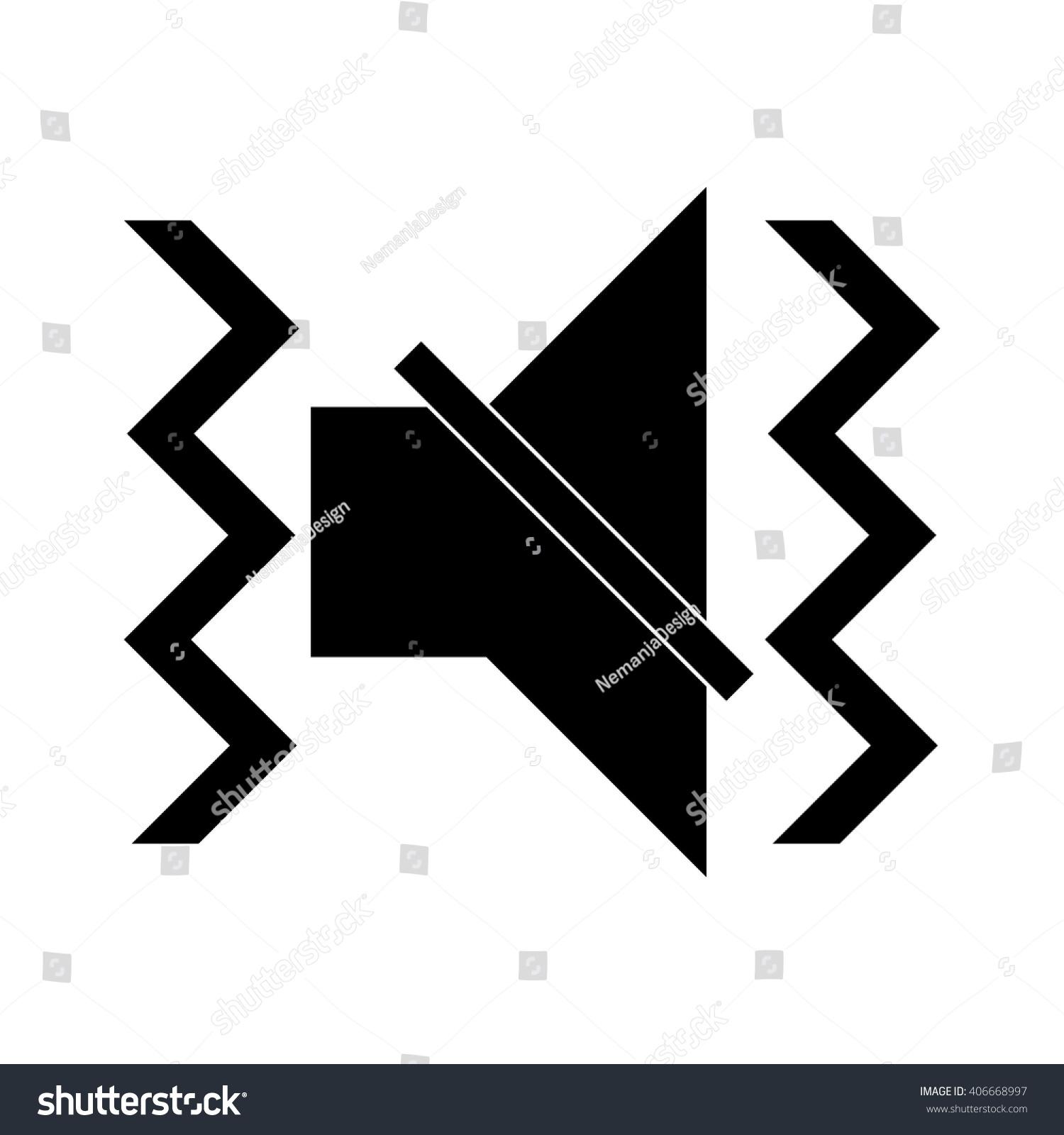 Vibration Icon Stock Vector 406668997 - Shutterstock