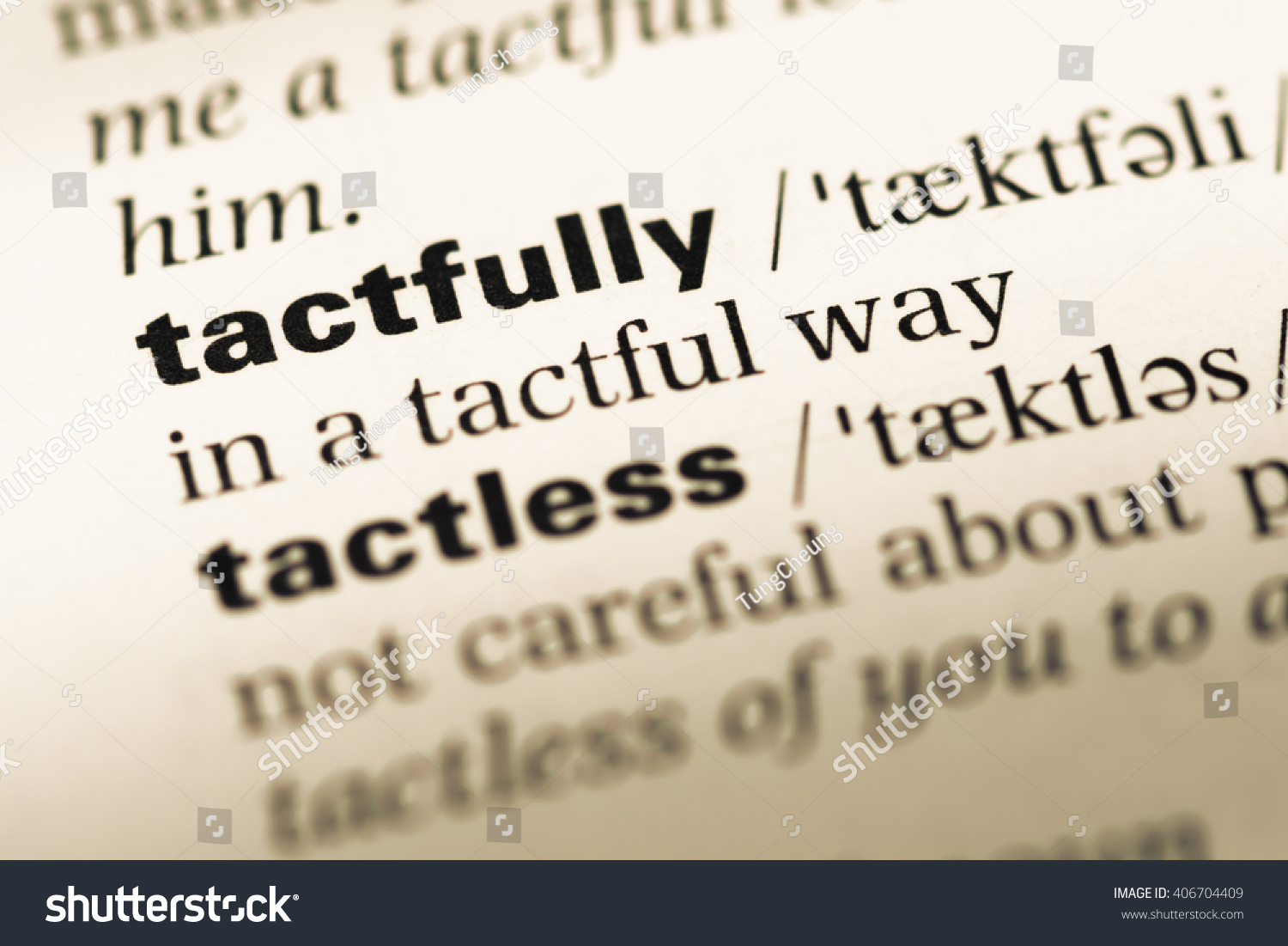 What is tactful meaning of the word 3