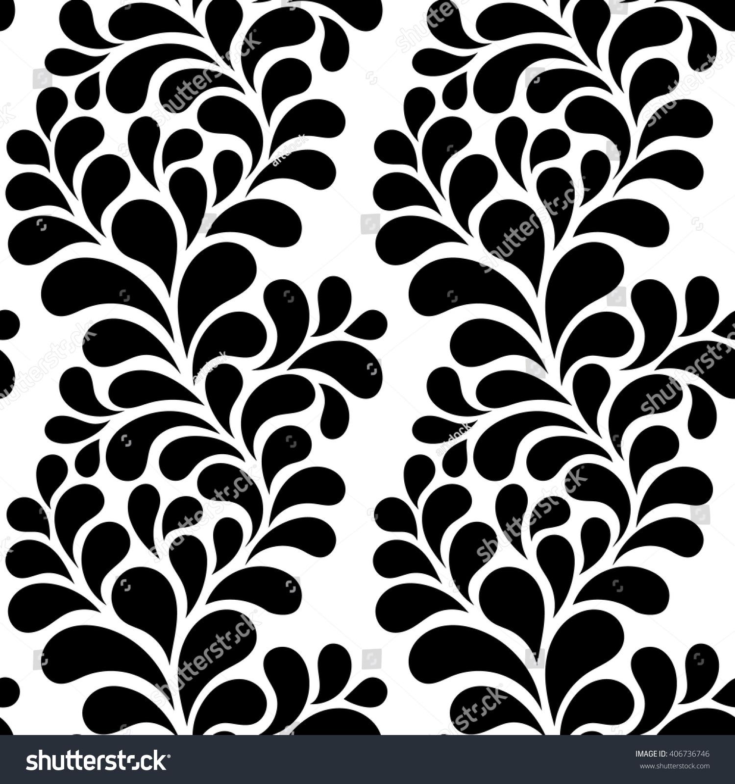 Vector Illustration Seamless Abstract Pattern Decorative