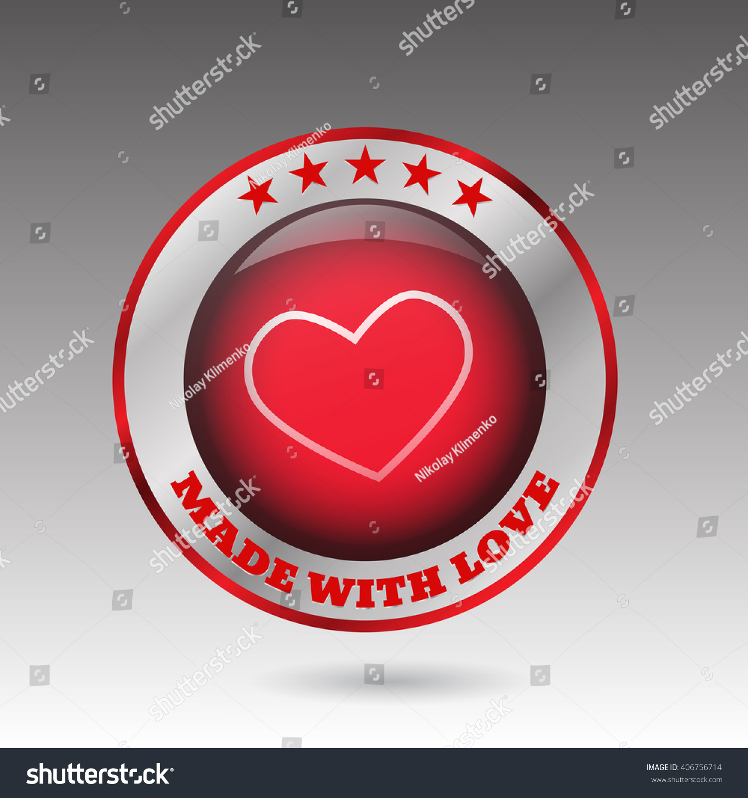 Big made love button heart symbol stock vector 406756714 big made love button heart symbol stock vector 406756714 shutterstock buycottarizona Image collections