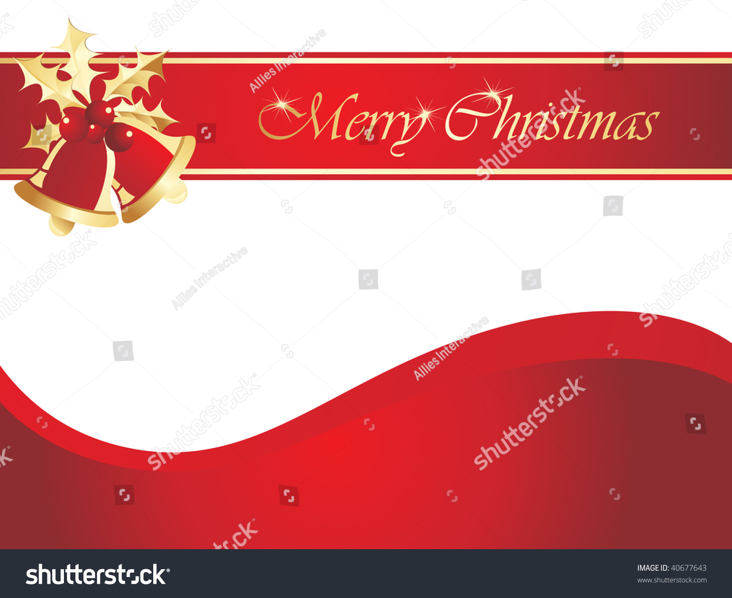 Christmas day card simple pattern vector stock vector 40677643 christmas day card with simple pattern vector illustration kristyandbryce Image collections