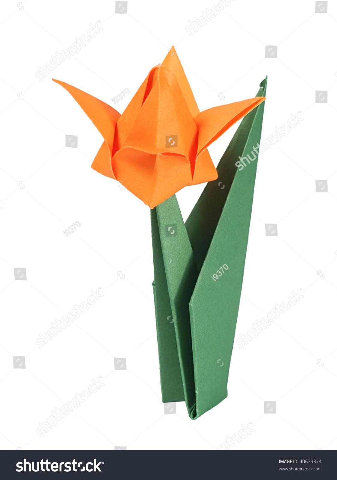 Origami Tulip Craft 9642387 Airhumidifierfo
