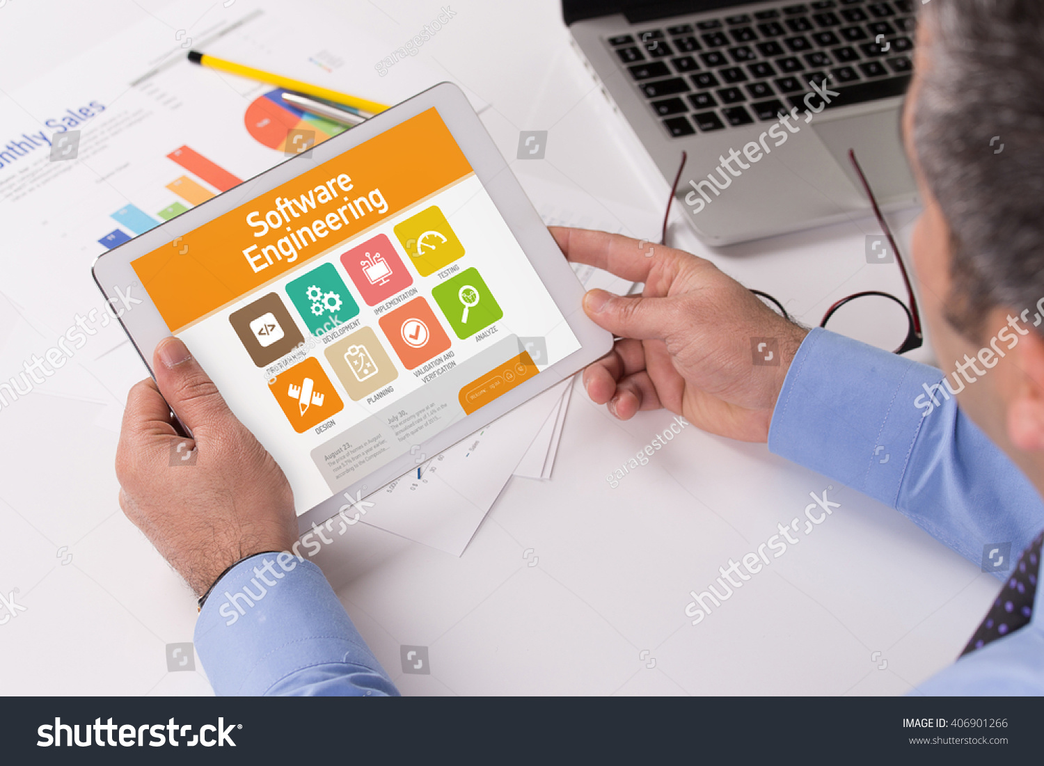 Software engineering screen on tablet pc stock photo edit now software engineering screen on the tablet pc ccuart Image collections