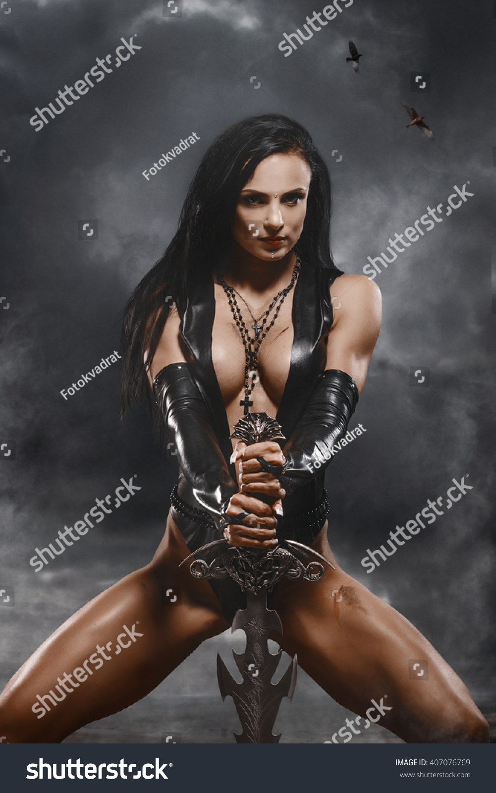 Erotic warriors shows