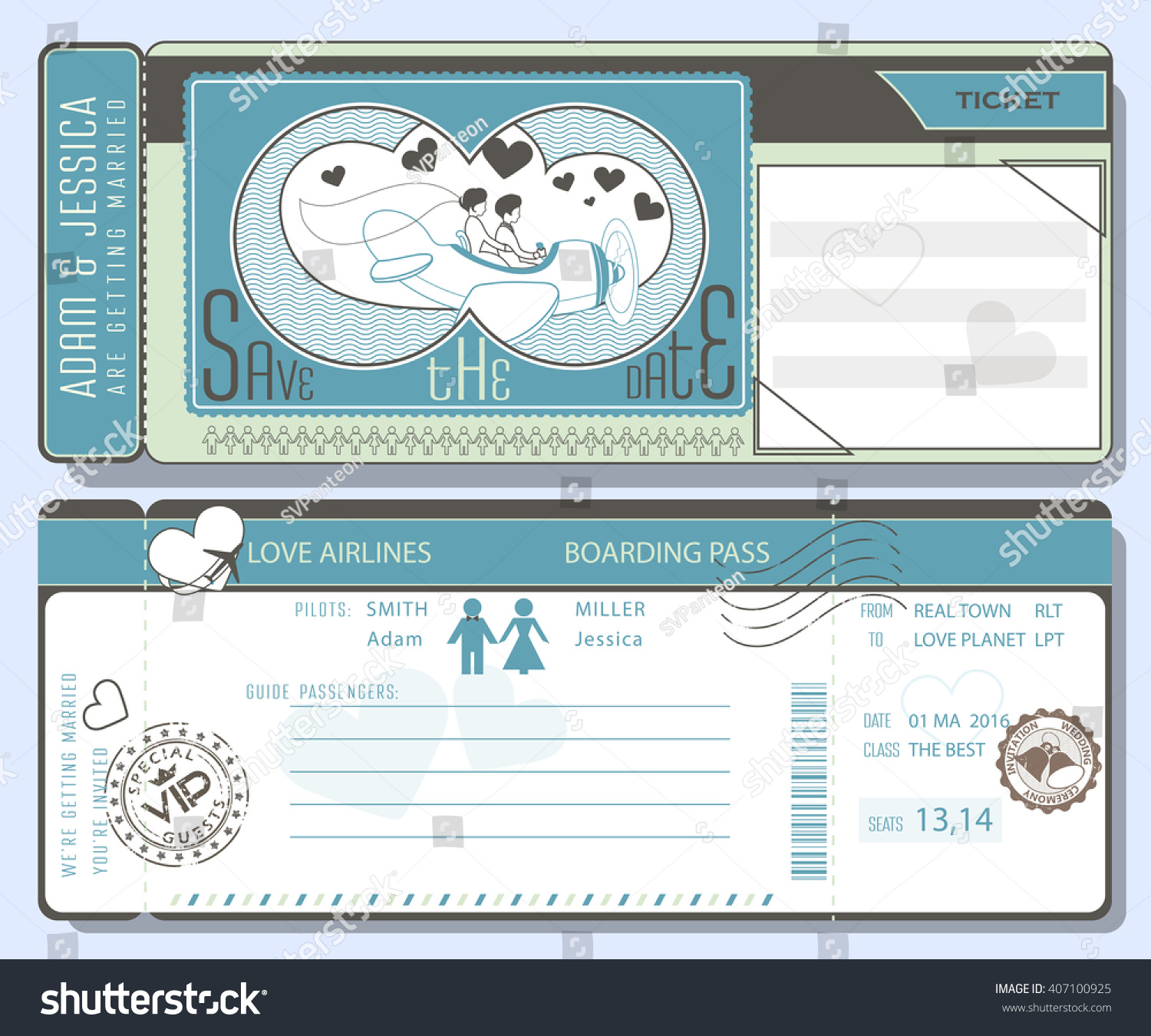 Plane Ticket Invitation Template Best Of Plane Ticket Template
