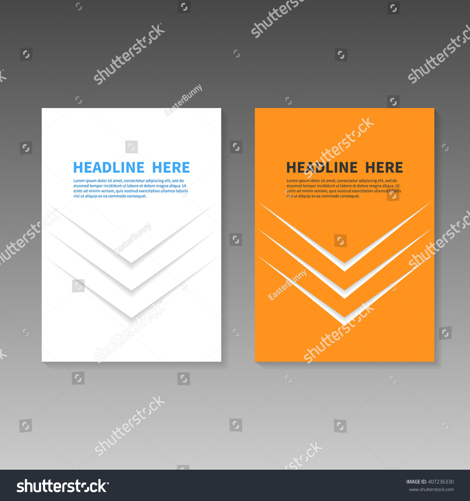 book title page business report booklet stock vector  book title page business report or booklet cover brochure layout template poster