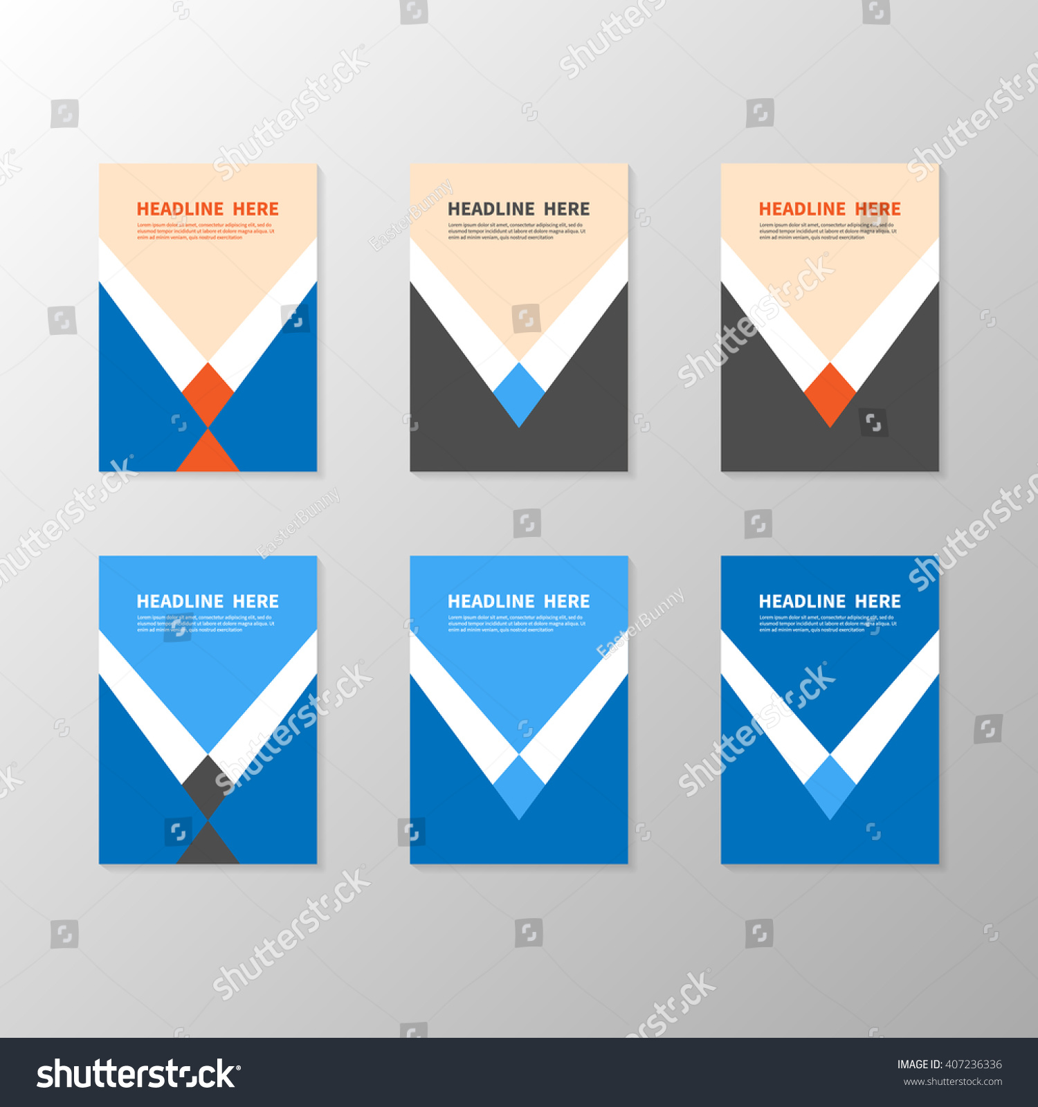 Business book title page template report stock vector royalty free business book title page template report or booklet cover brochure layout poster accmission Choice Image