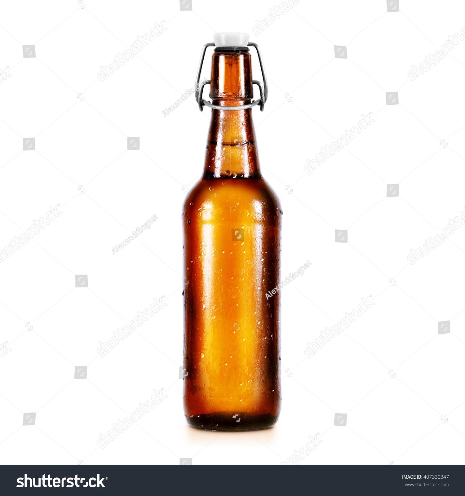 Blank Beer Bottle Mockup Without Label Foto de stock (editar ahora ...