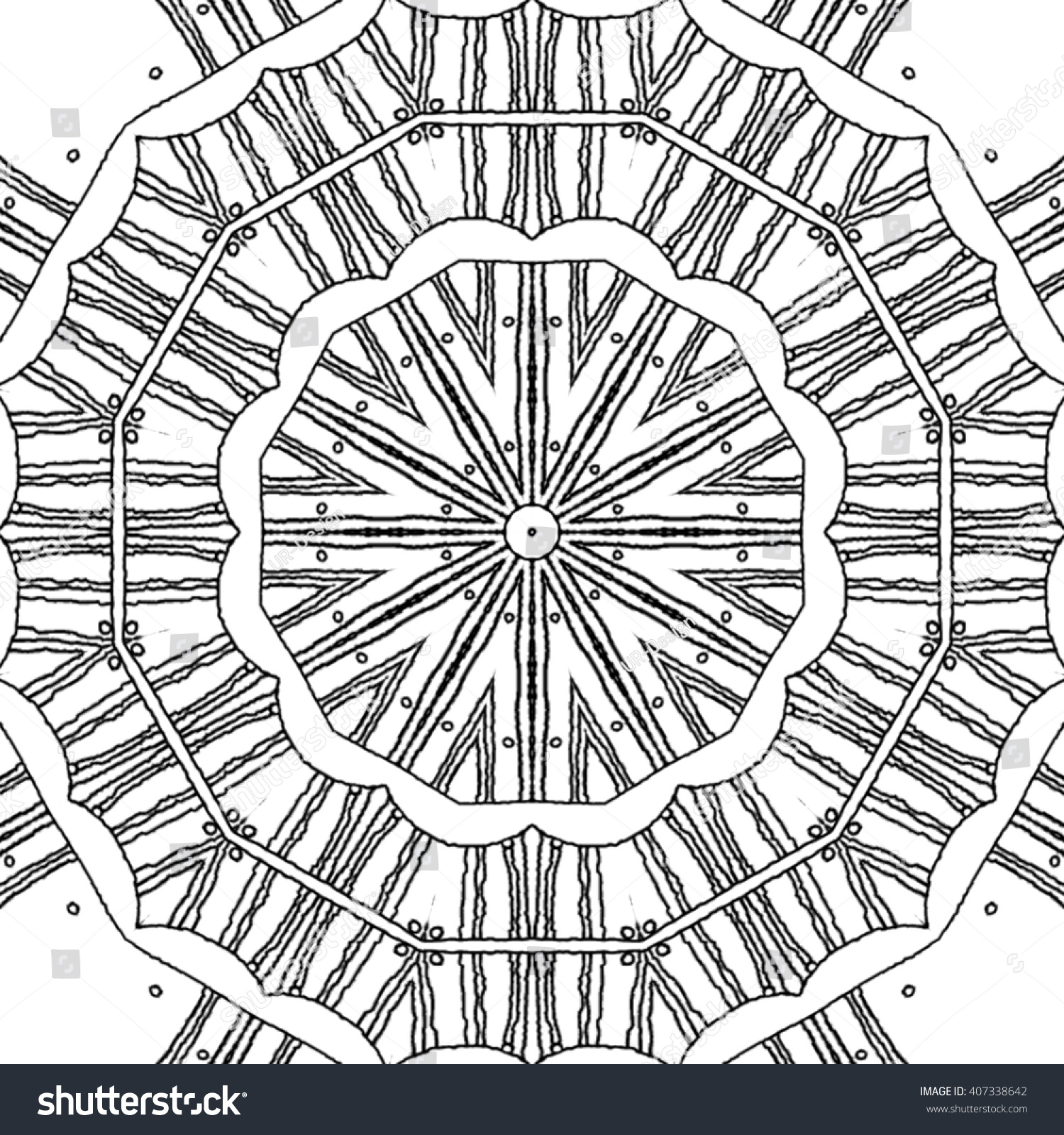 circle abstract coloring pages - photo#30
