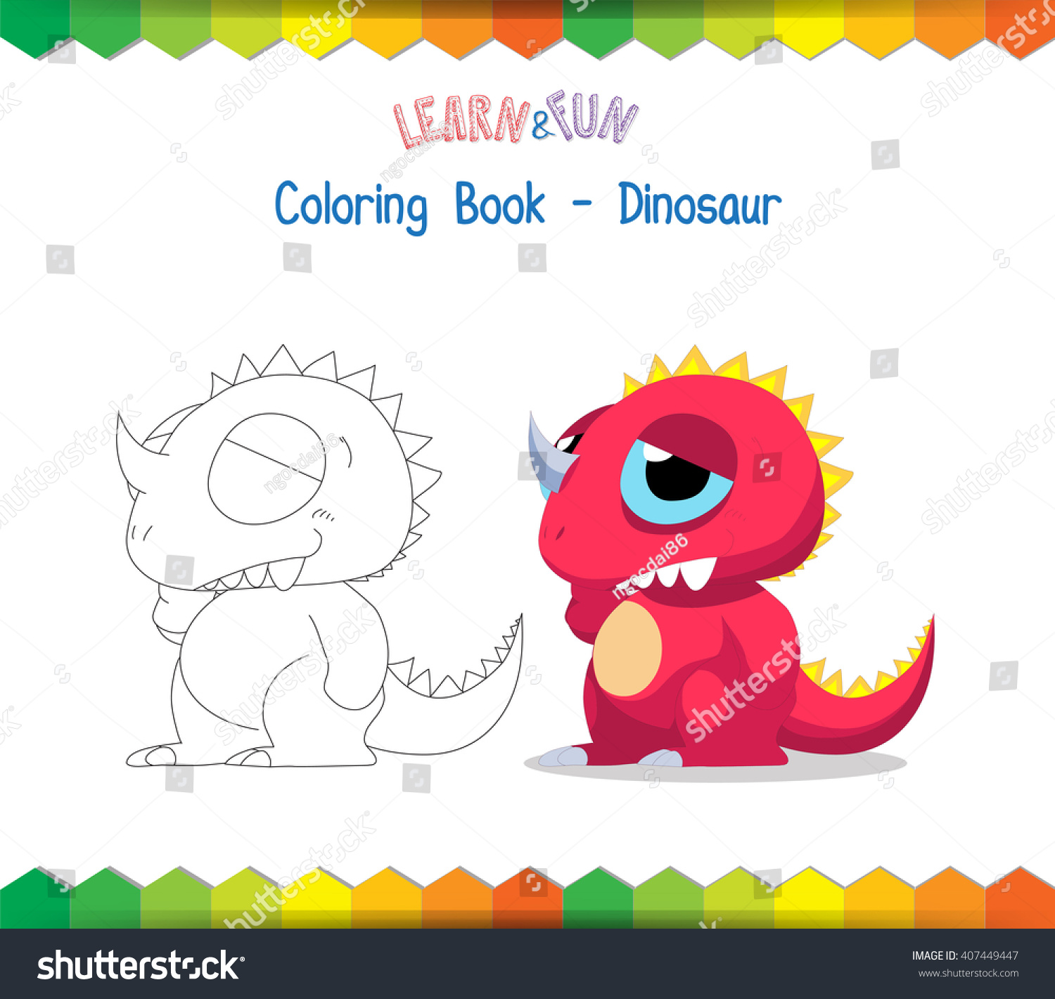 Dinosaur Coloring Book Educational Game