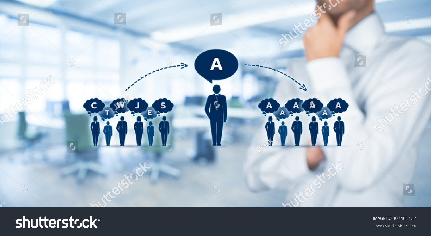 influencer opinion leader team leader ceo stock photo  influencer opinion leader team leader ceo and another business leading concepts opinion