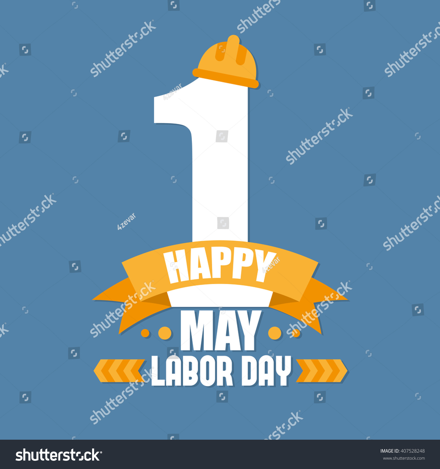 Labor Day Poster International Labour Day Stock Vector 407528248 ...