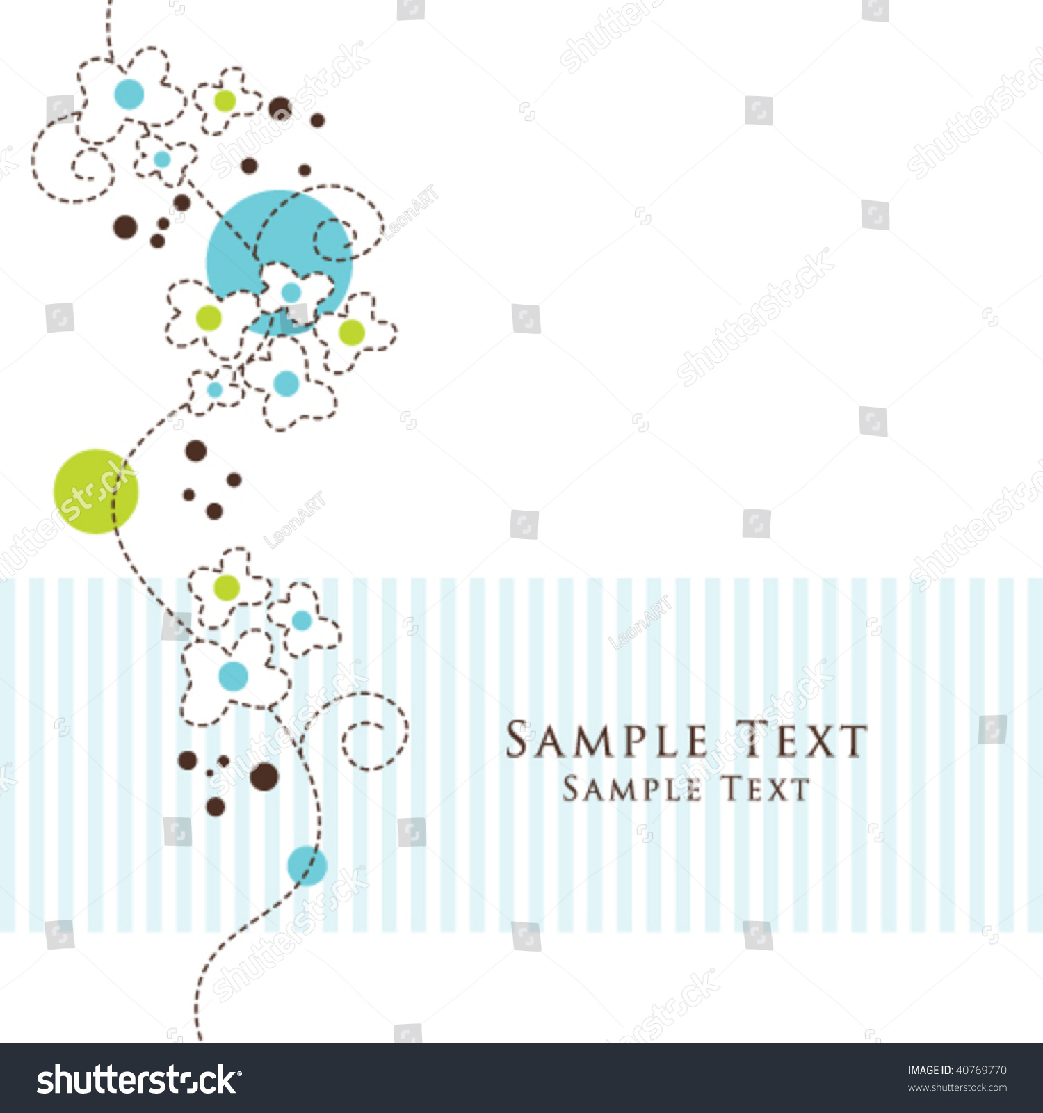 Nice greeting card template cute simple artistic stock vector nice greeting card template cute simple artistic hand drawn illustration doodle for baby shower kristyandbryce Image collections