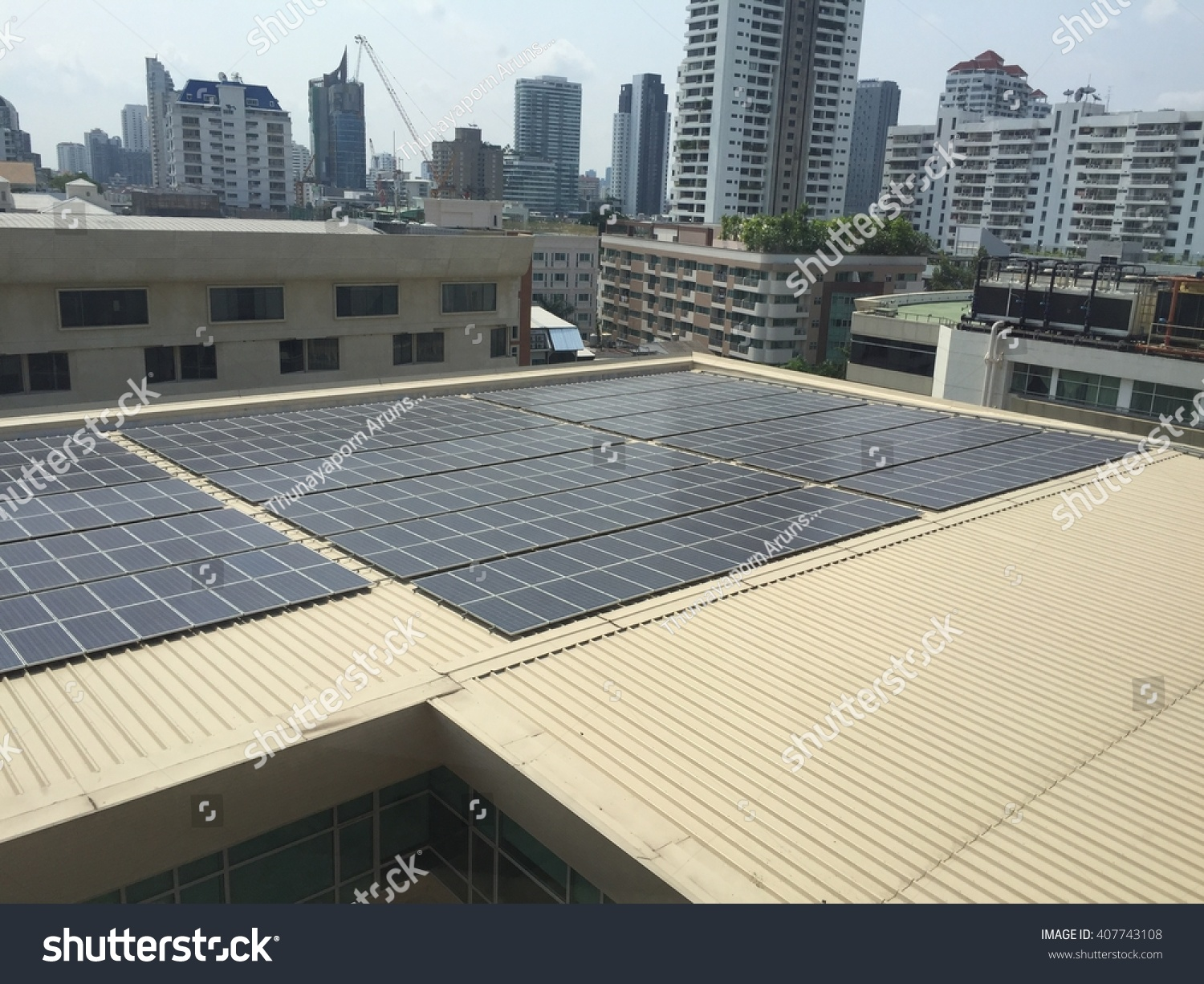 Solar Powered Office Buildings : Save electricity to light more homes poster polarview