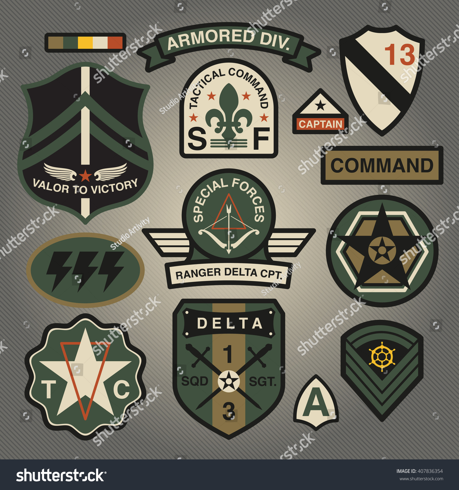 military badges and patches in Collectible International