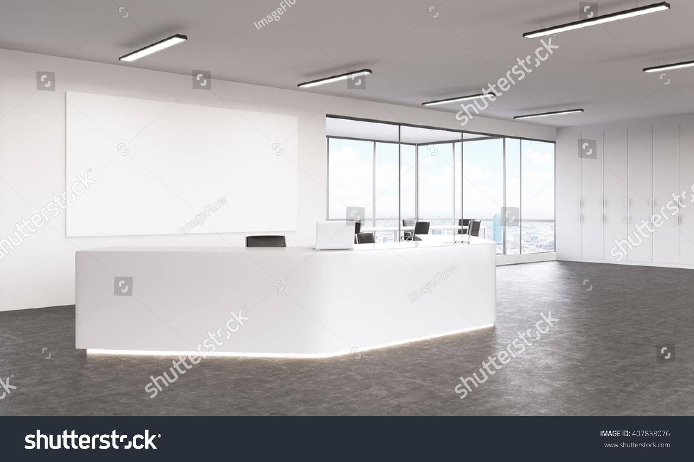 Interior design white reception area blank stock for Interior designers in my area