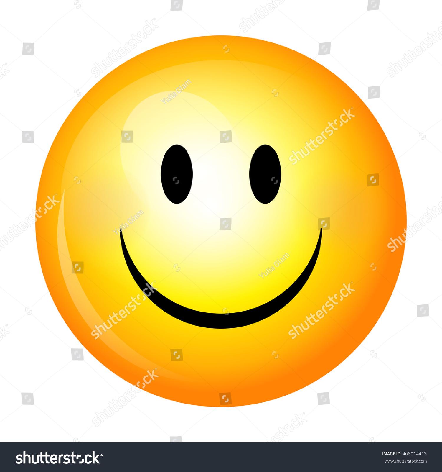 smiley vector happy face stock vector 408014413 shutterstock rh shutterstock com free vector smiley face icon set yellow vector smiley faces
